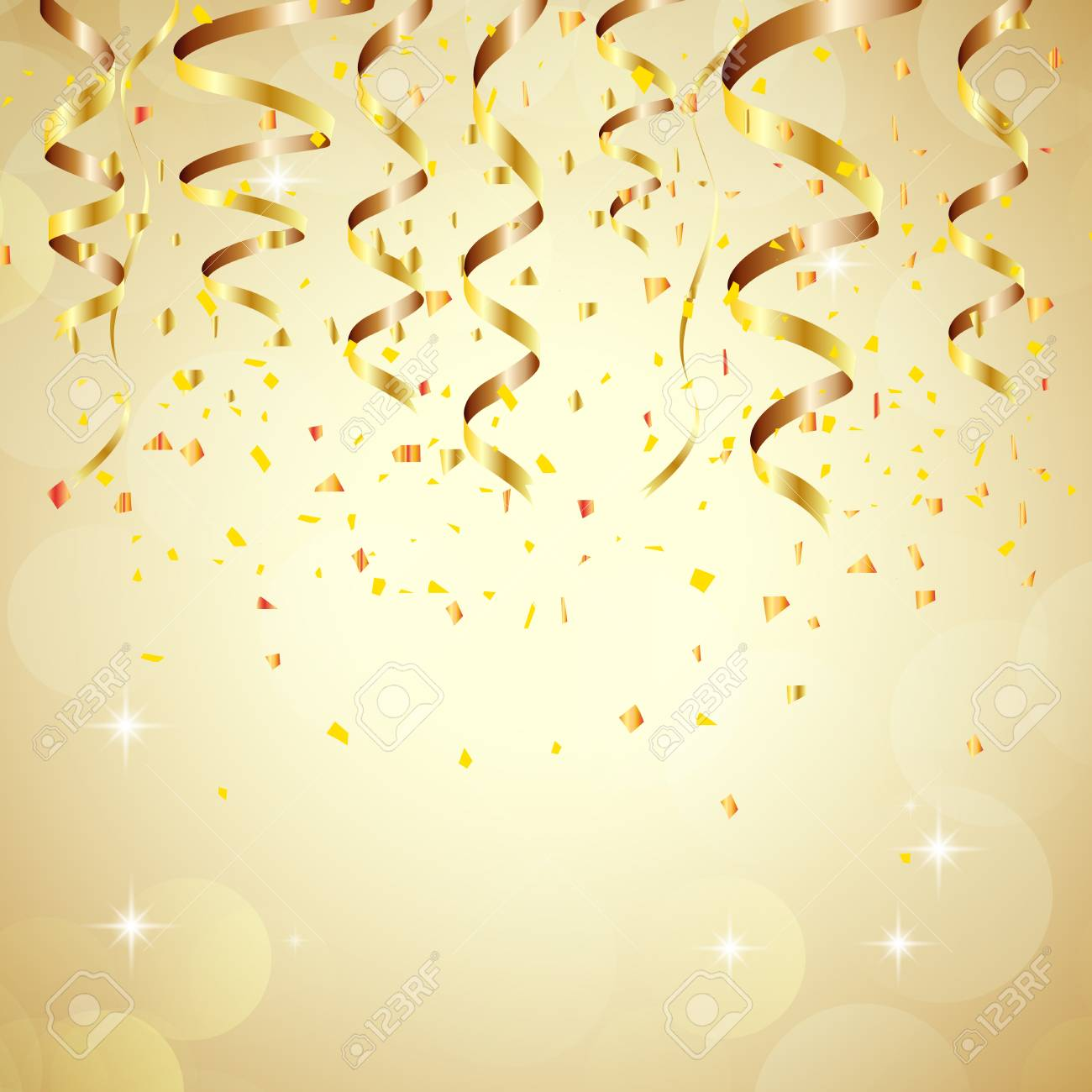 happy new year background with golden confetti stock photo picture rh 123rf com happy new year backgrounds happy new year bac