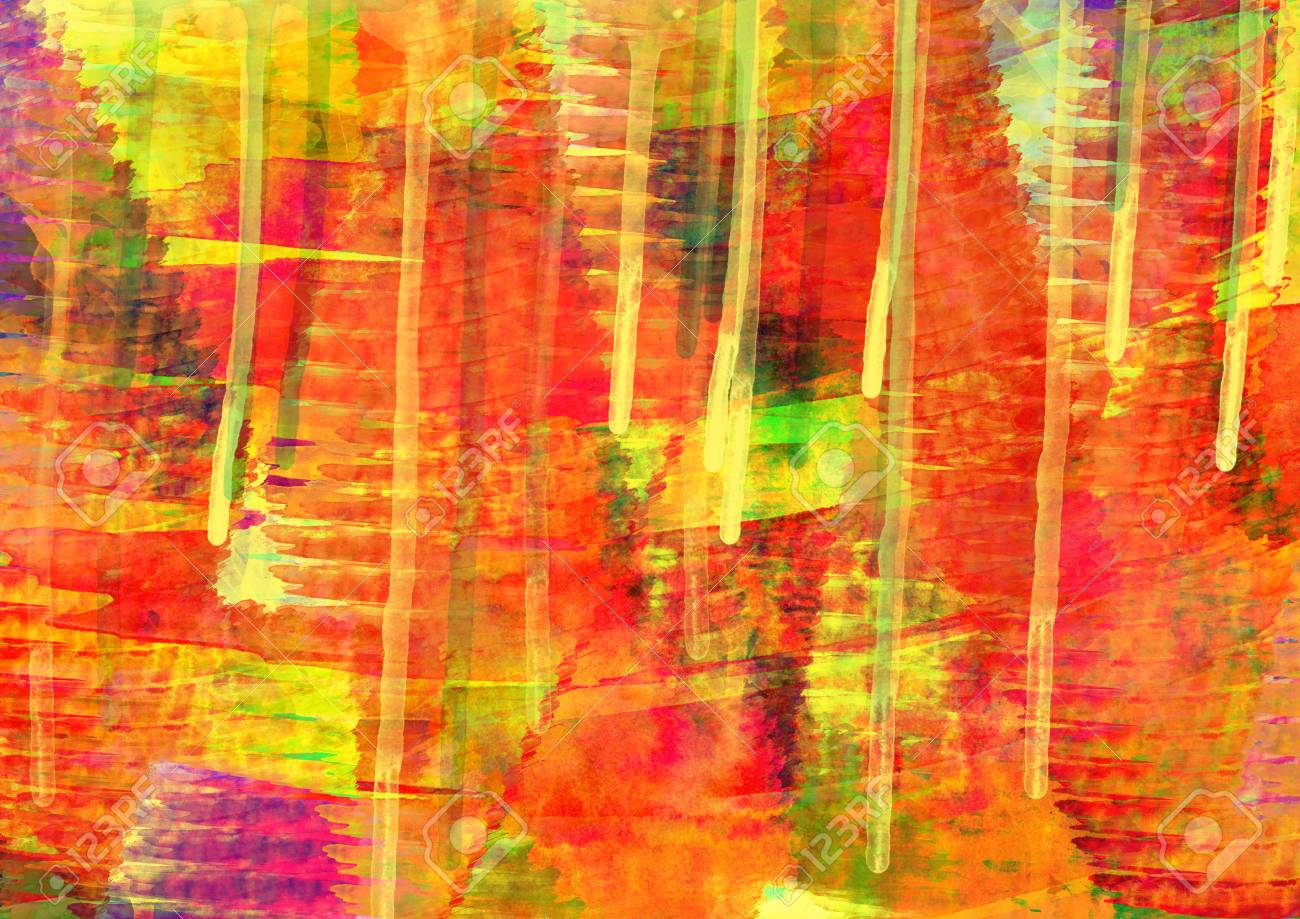 colorful in digital painting background stock photo picture and