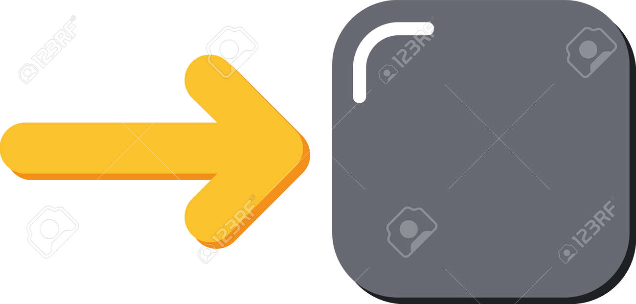 An arrow icon that expresses directing and drawing attention to a certain point in all kinds of visual designs. - 165918973
