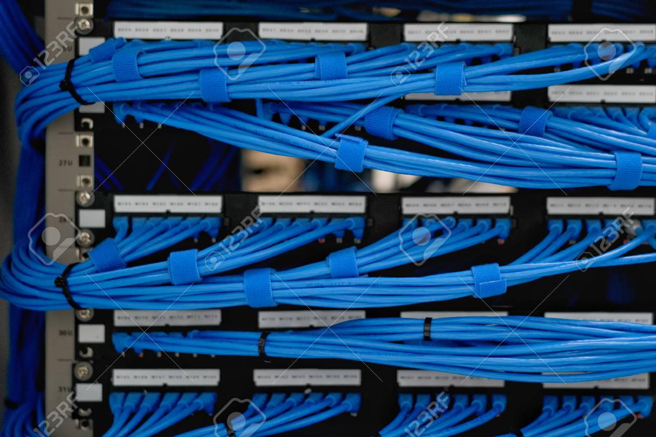 Marvelous Lan Cable Wiring And Networking In The Network Or Server Rack Wiring Digital Resources Funapmognl