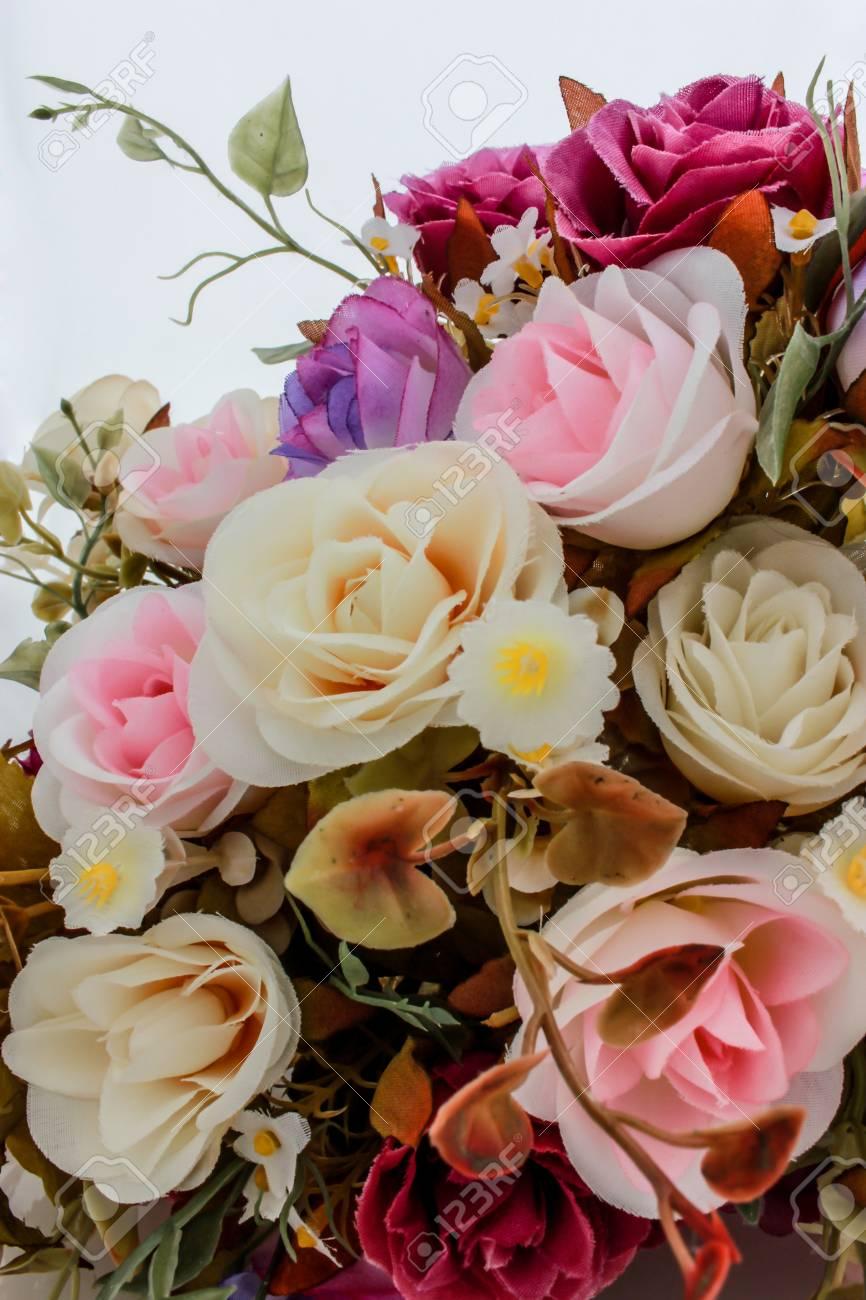 wedding bouquet with rose bush Stock Photo - 21421185