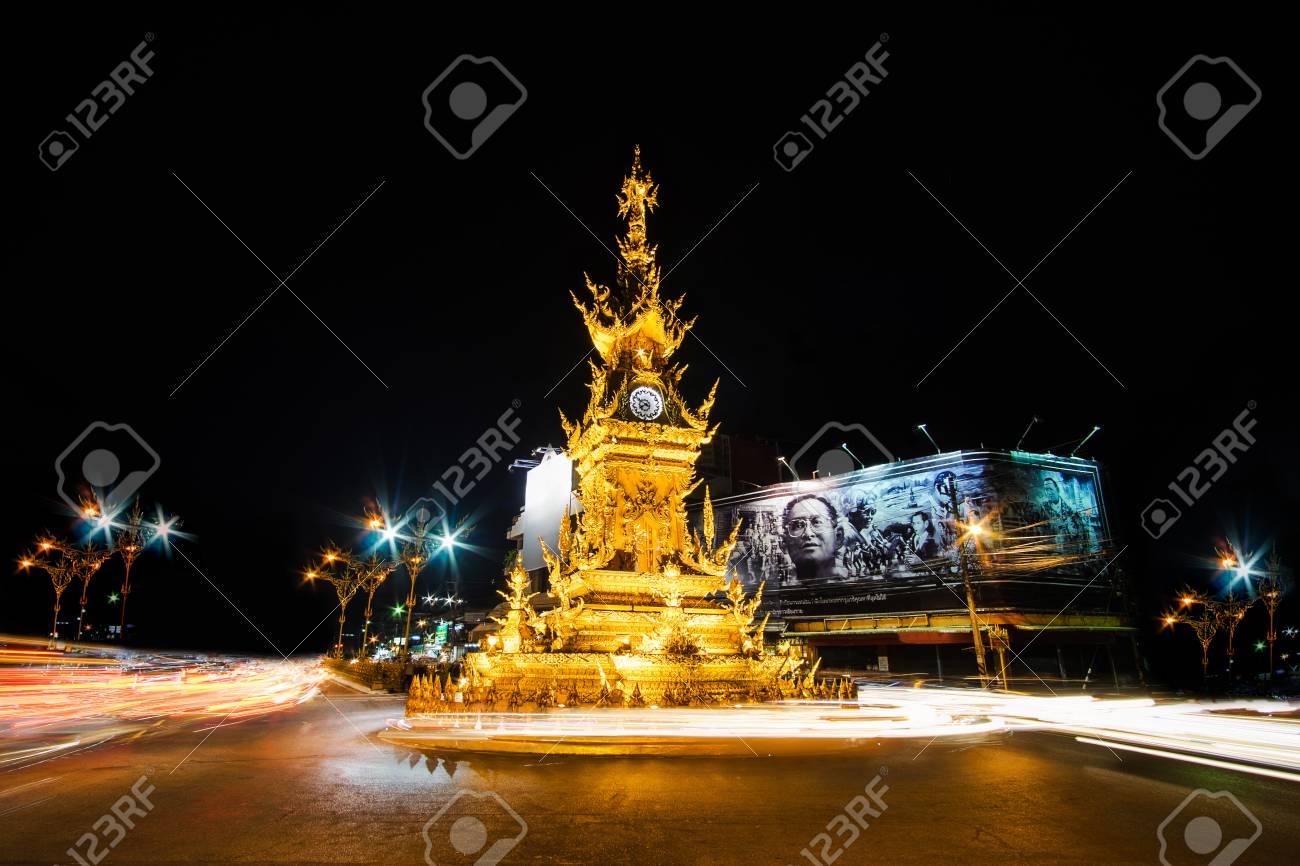TípicoDiseñado Estilo Tailandés 2016Torre ChiangraiTailandia Noviembre Chalermchai Khosit OroConstruida Pipat De Reloj Por 27 En MGUzjqpLSV