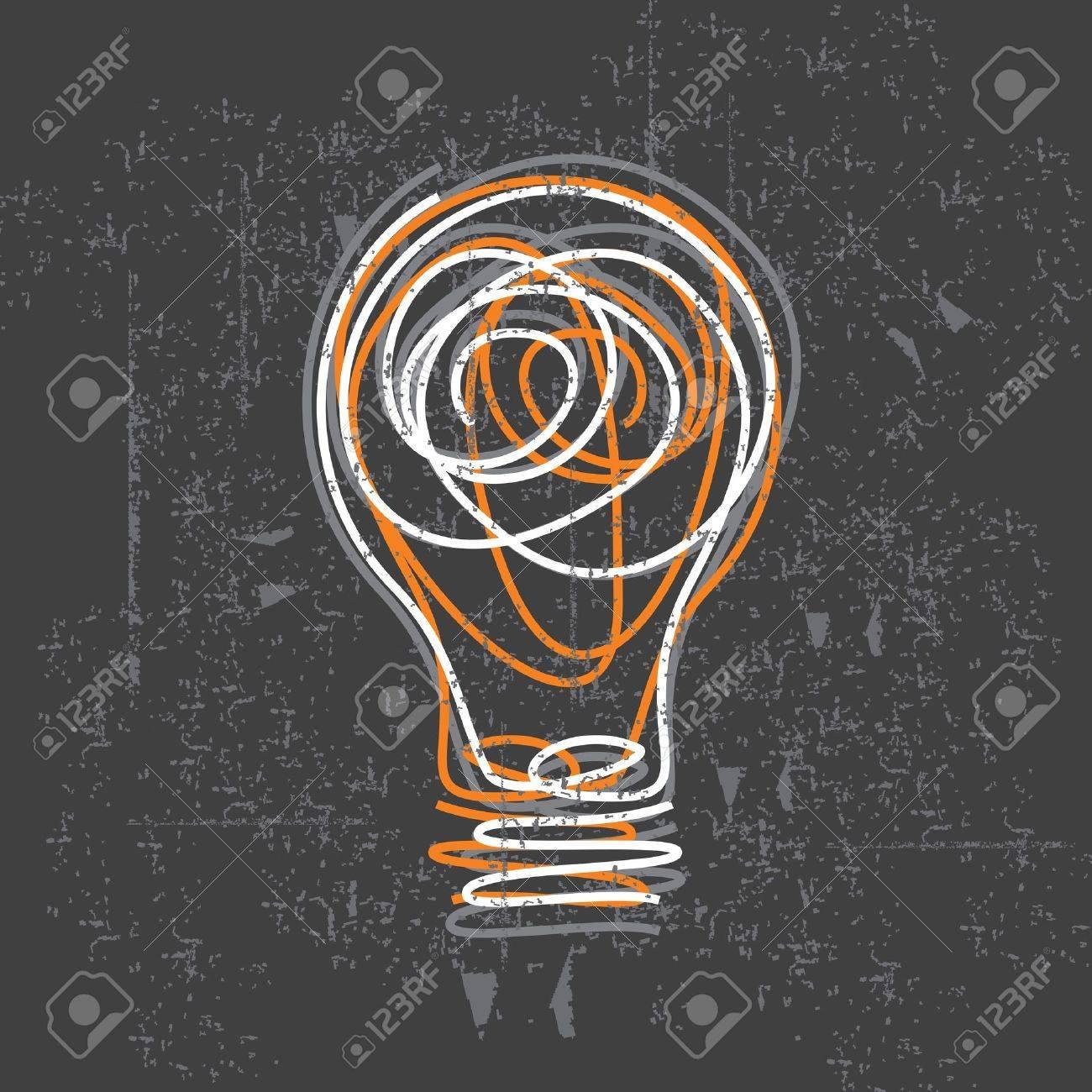 bulb vector Stock Vector - 15660899