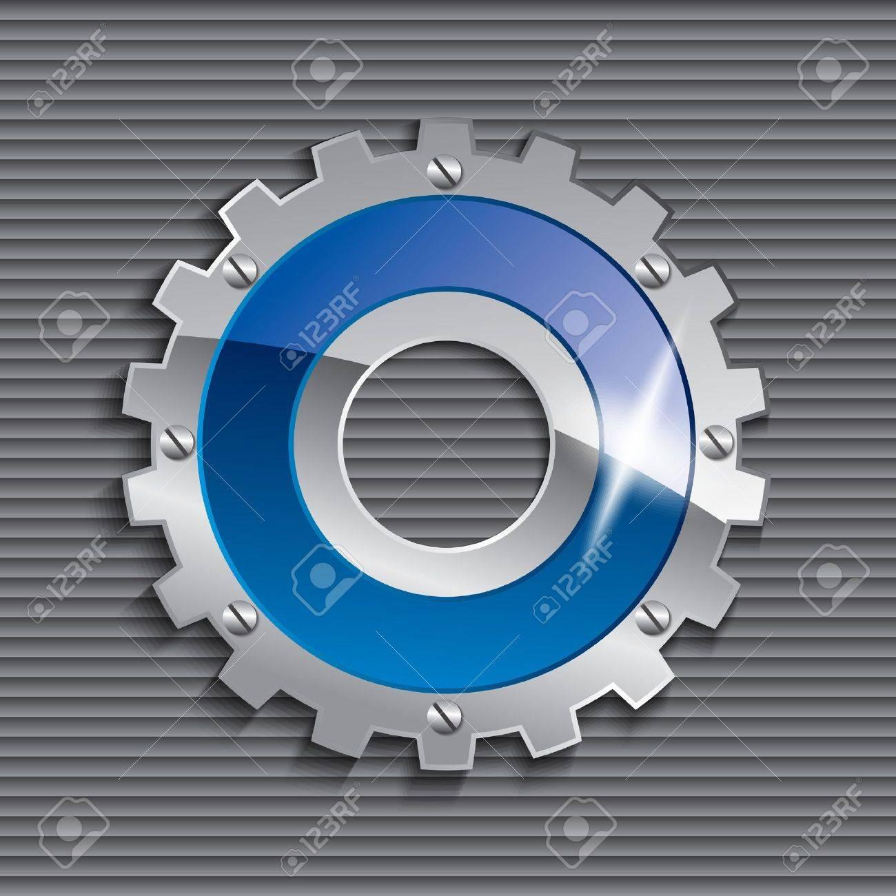 gear vector icon Stock Vector - 15656151