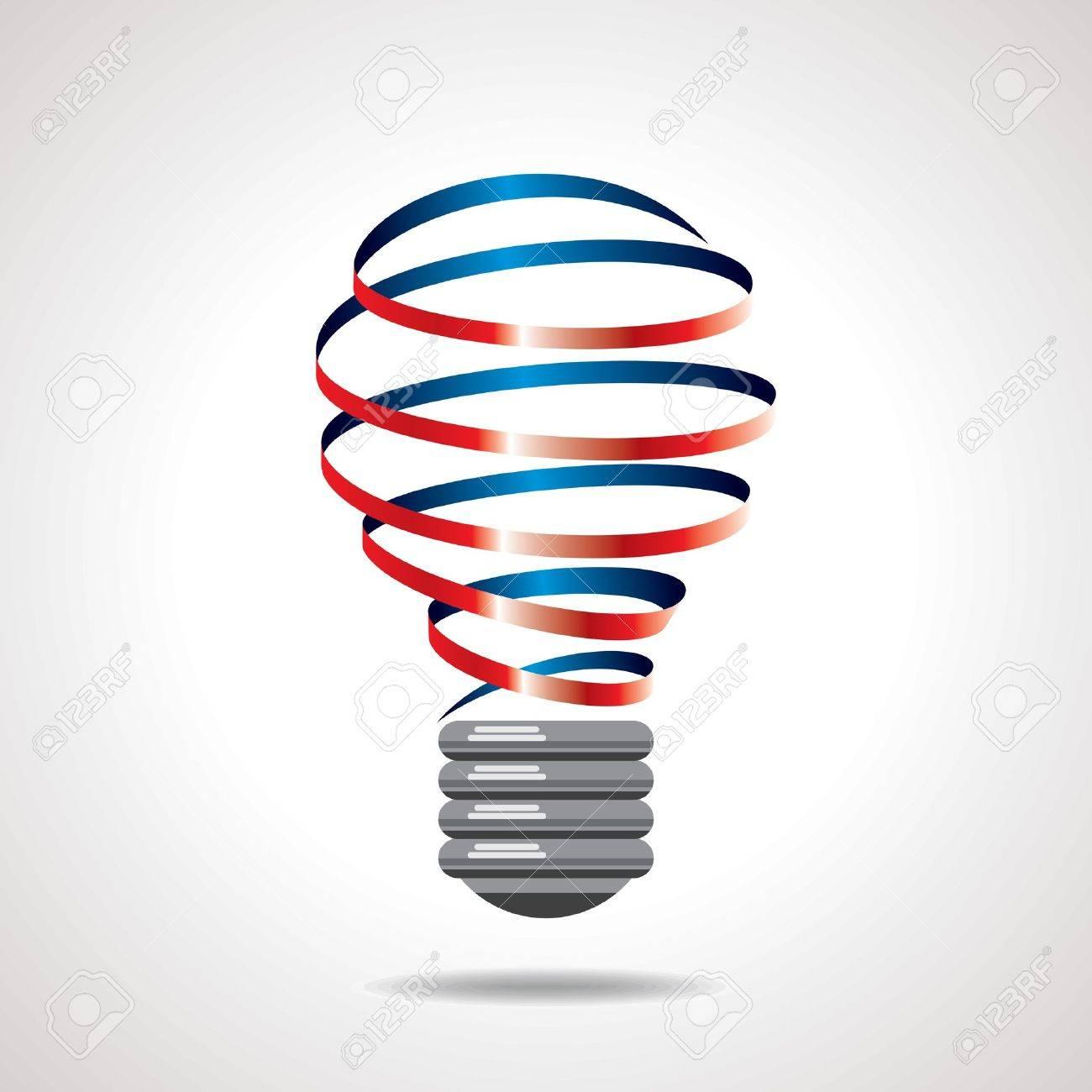 light bulb idea vector - 15606914