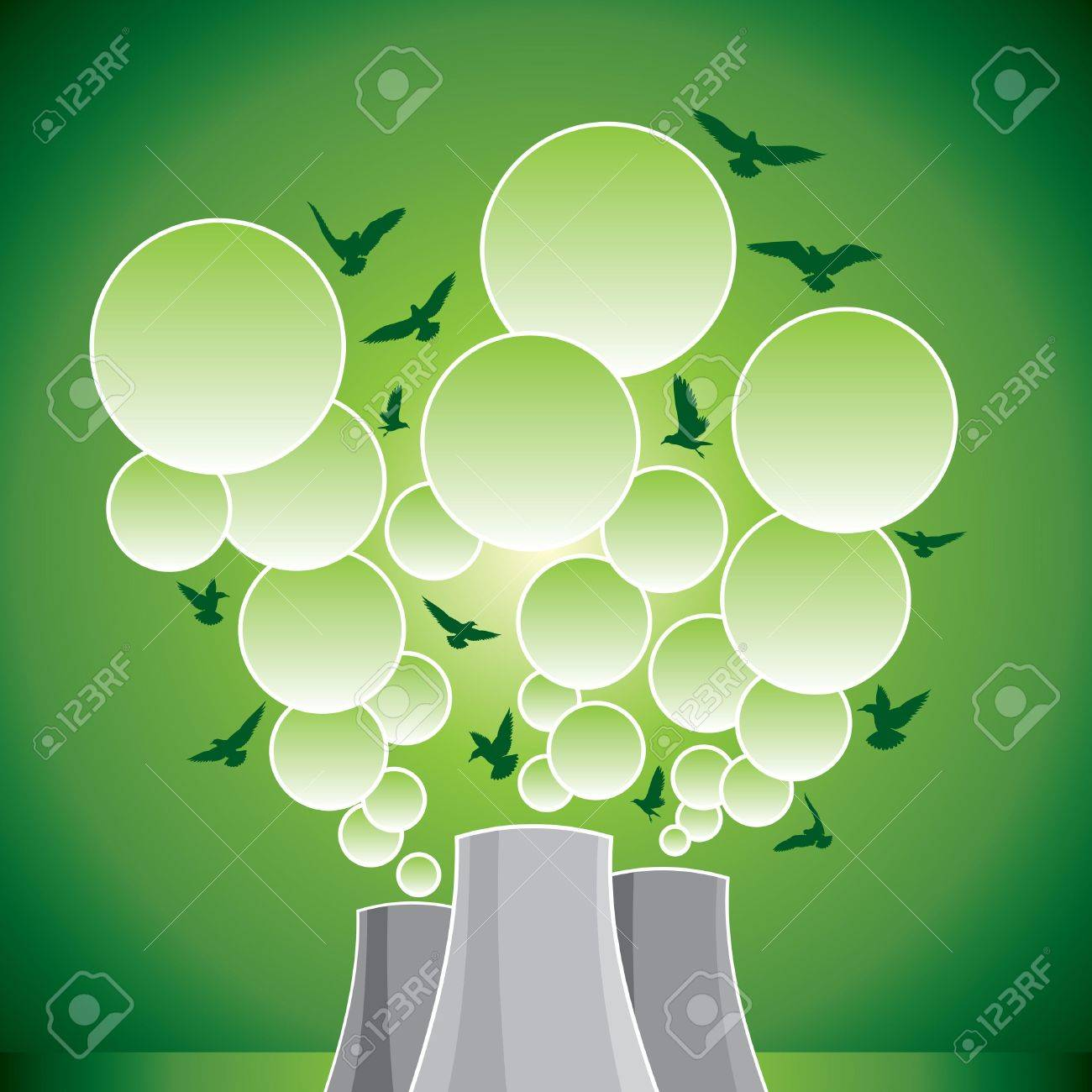 save environment to pollution Stock Vector - 17753584