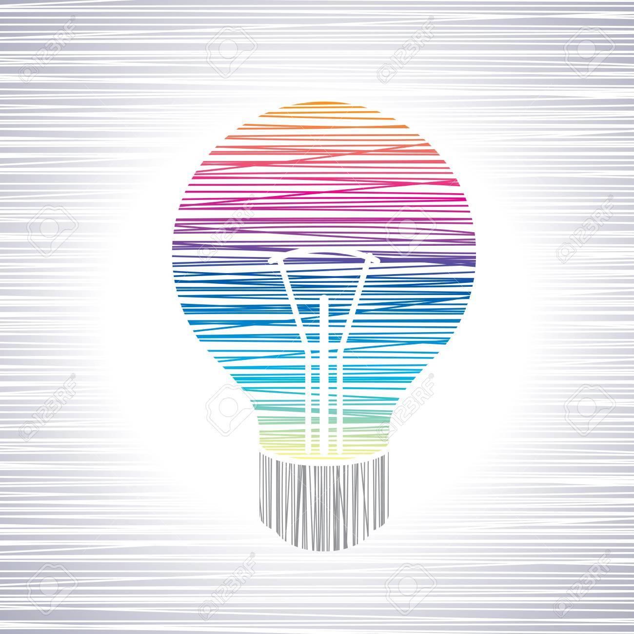 light bulb idea Stock Vector - 17725798