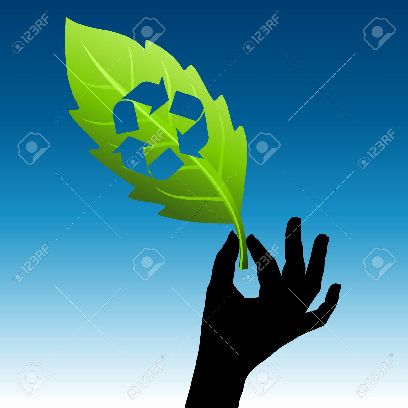 save environment idea Stock Vector - 17635112