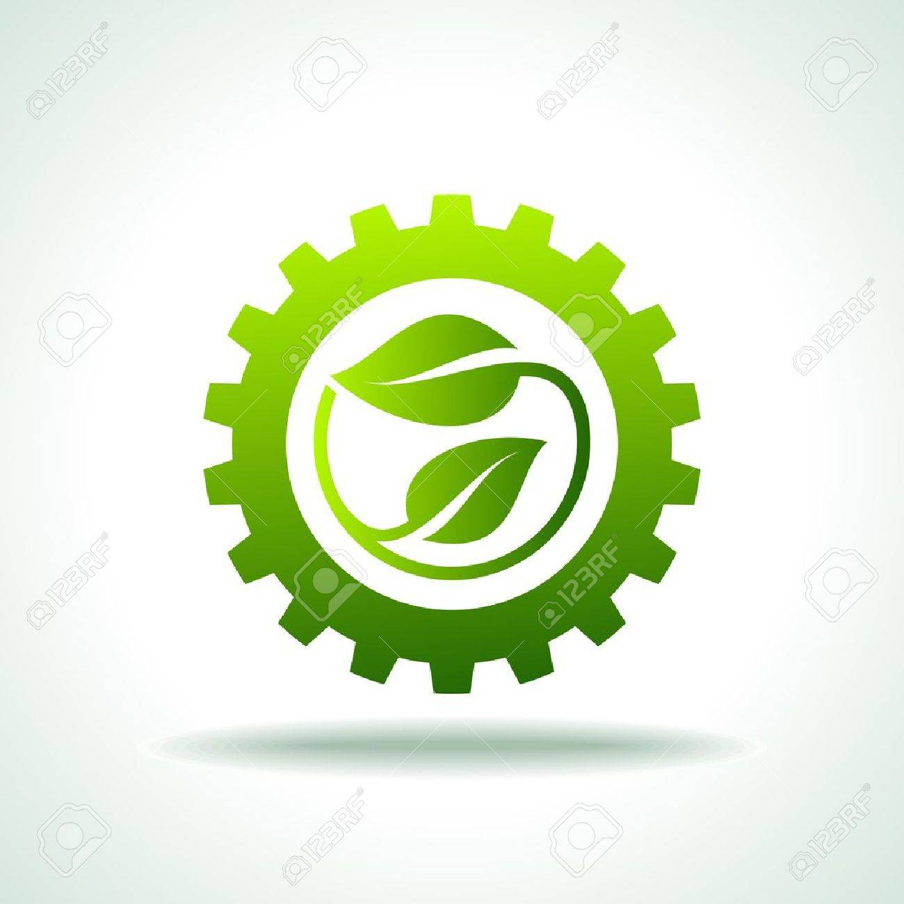 environmentally friendly industries Stock Vector - 17636943