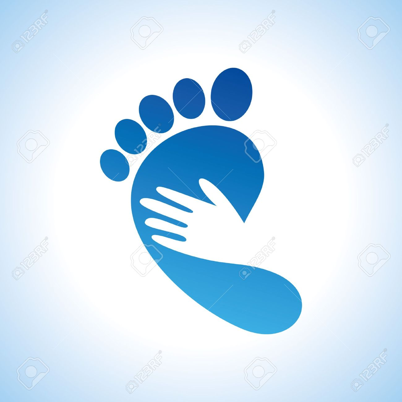 Icon Foot Massage Hand