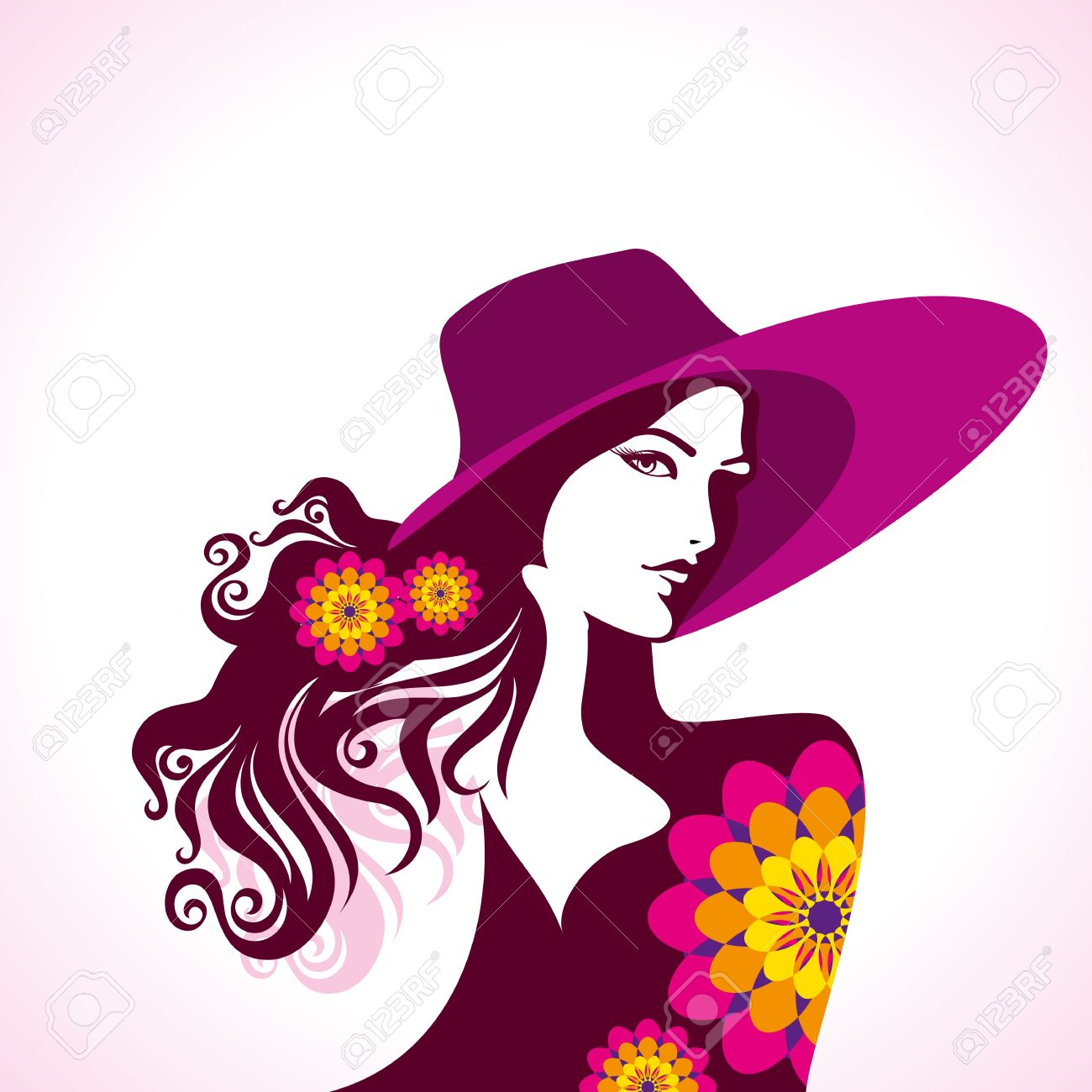 creative fashion women portrait royalty free cliparts vectors and rh 123rf com fashion vector background fashion vector images