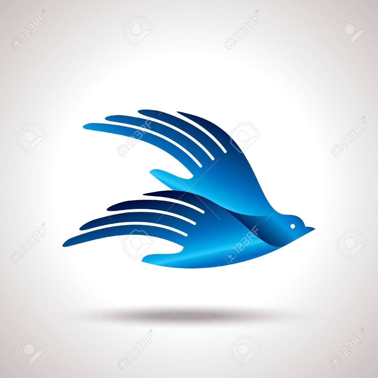fly of bird to hand  creative idea Stock Vector - 20881395