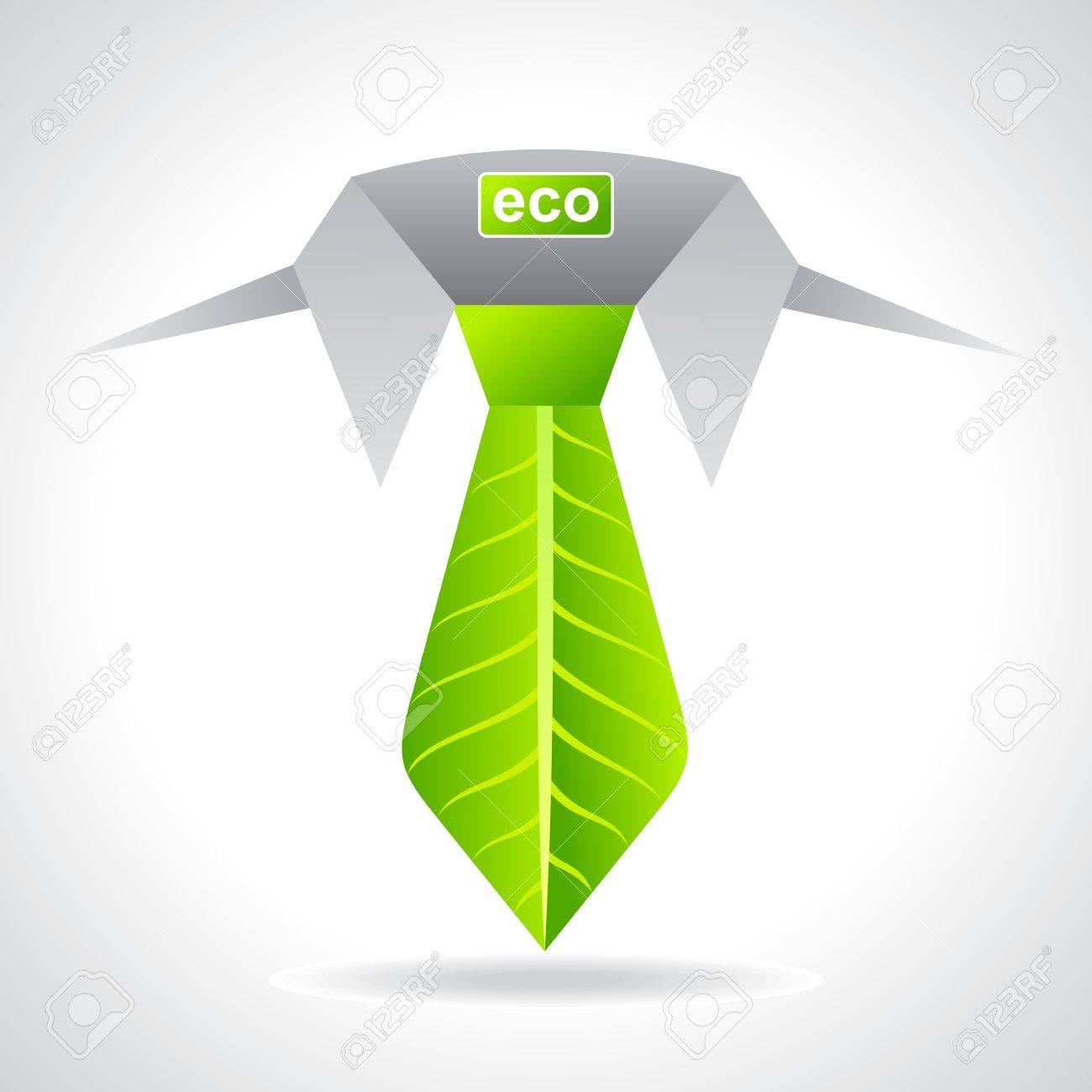 environment friendly business concept Stock Vector - 20881567