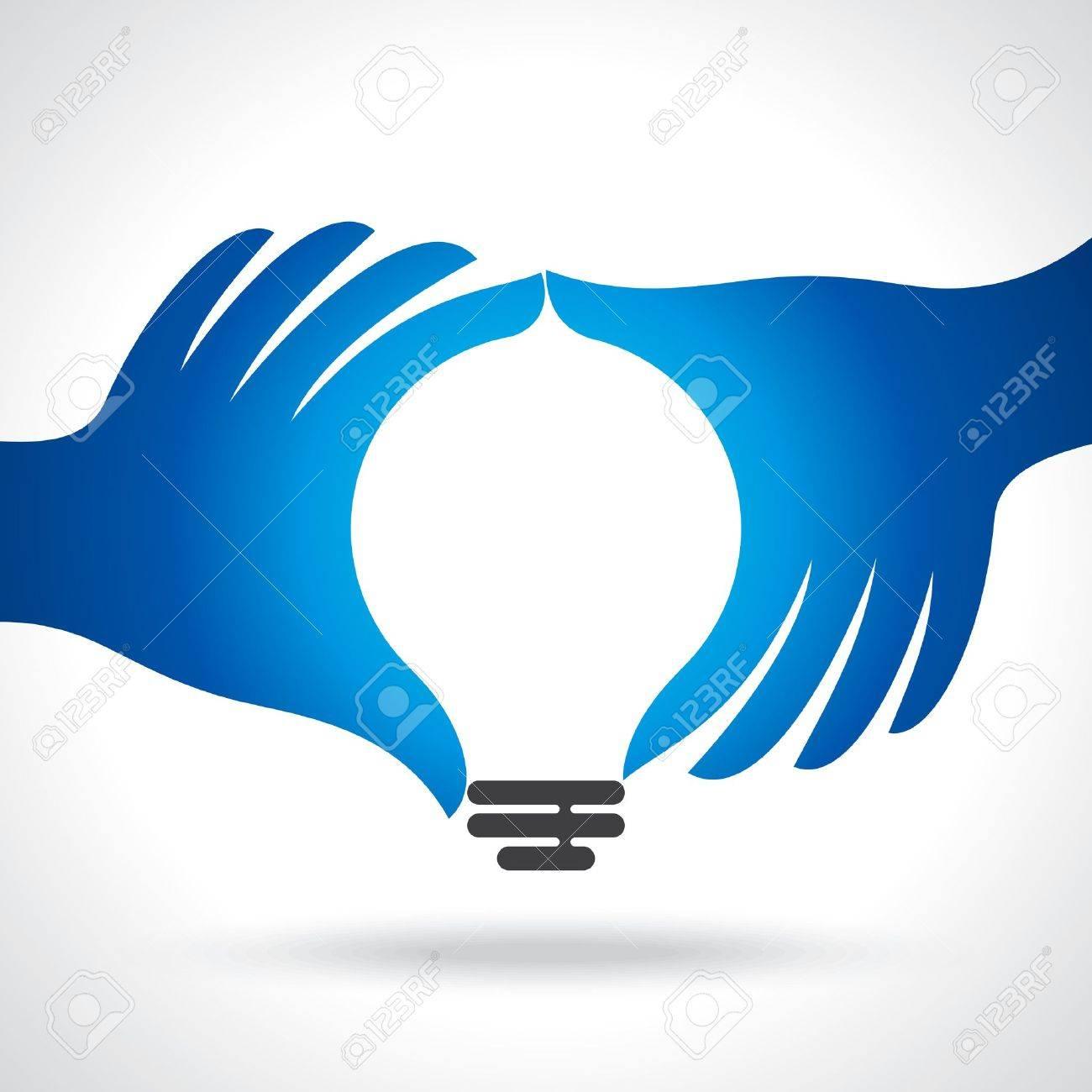 reach idea with human hand - 20881708