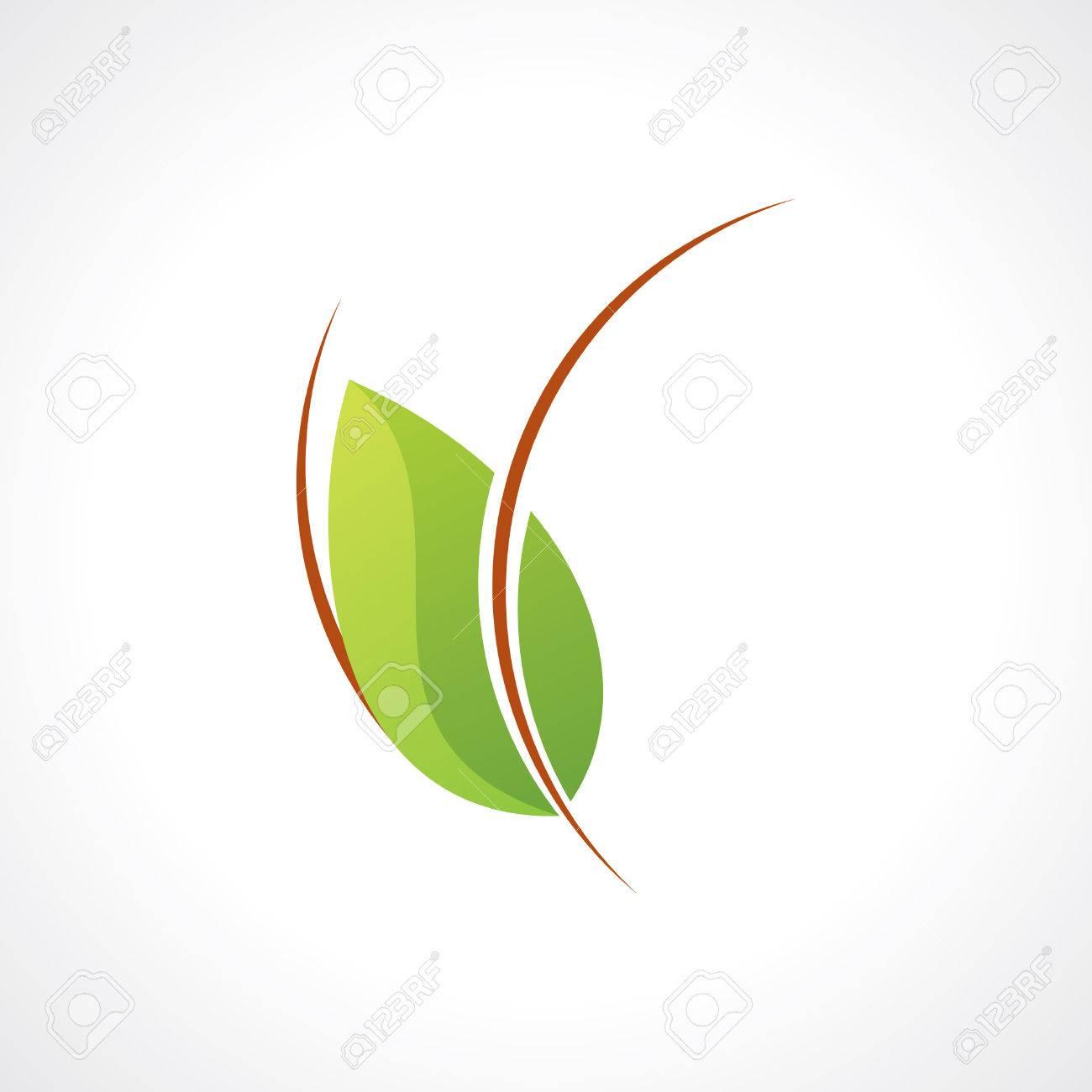 Wellness icon  Grünes Blatt Wellness-Icon Lizenzfrei Nutzbare Vektorgrafiken ...