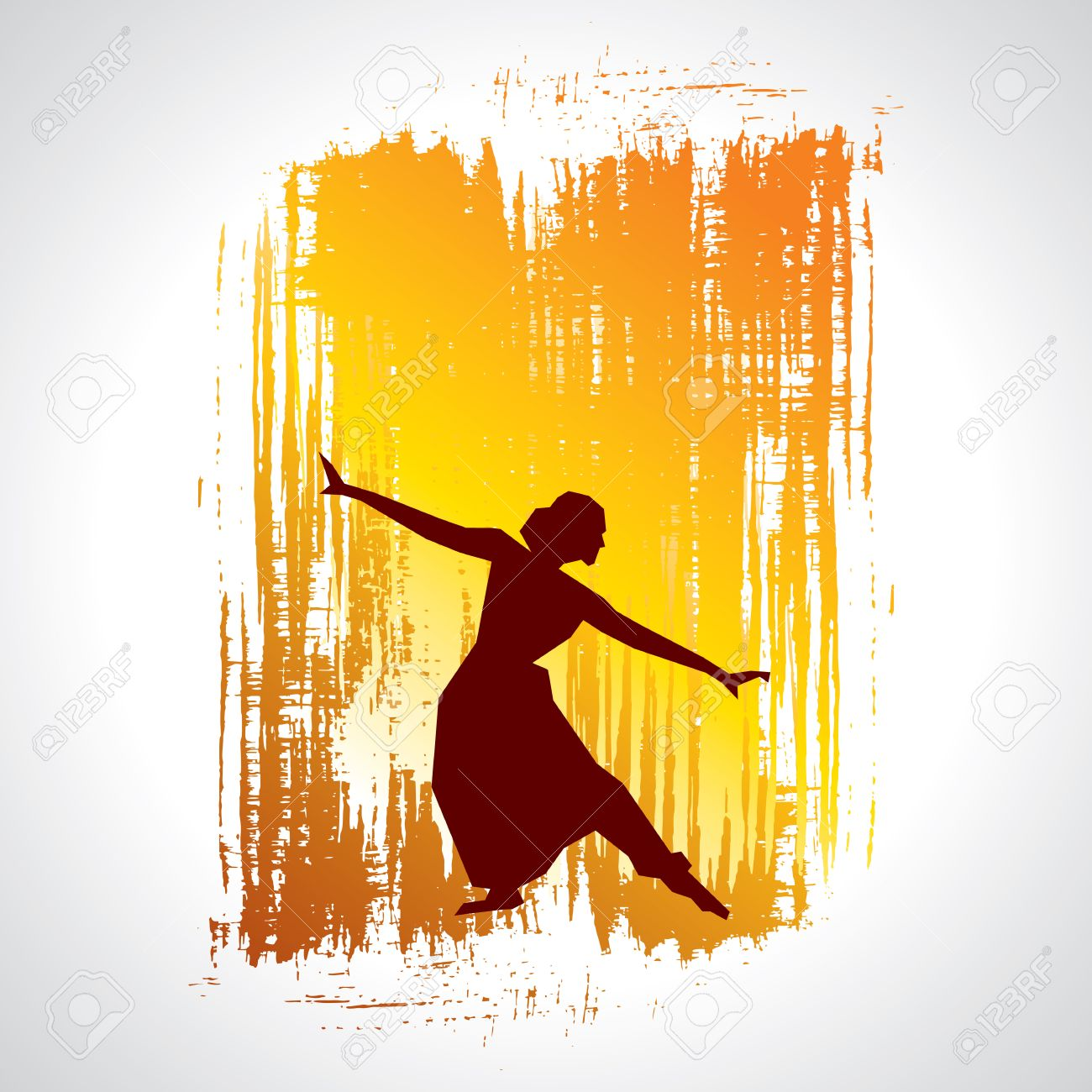 Illustration Of Indian Classical Dancer Royalty Free Cliparts Vectors And Stock Illustration Image 37109118