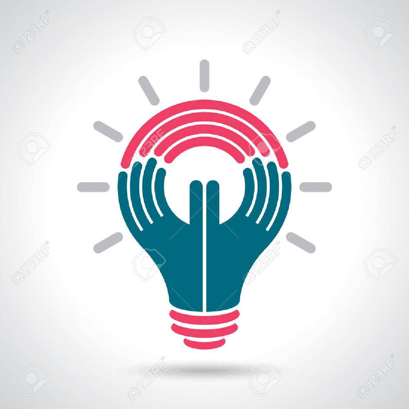 reach idea with human hand - 37110022