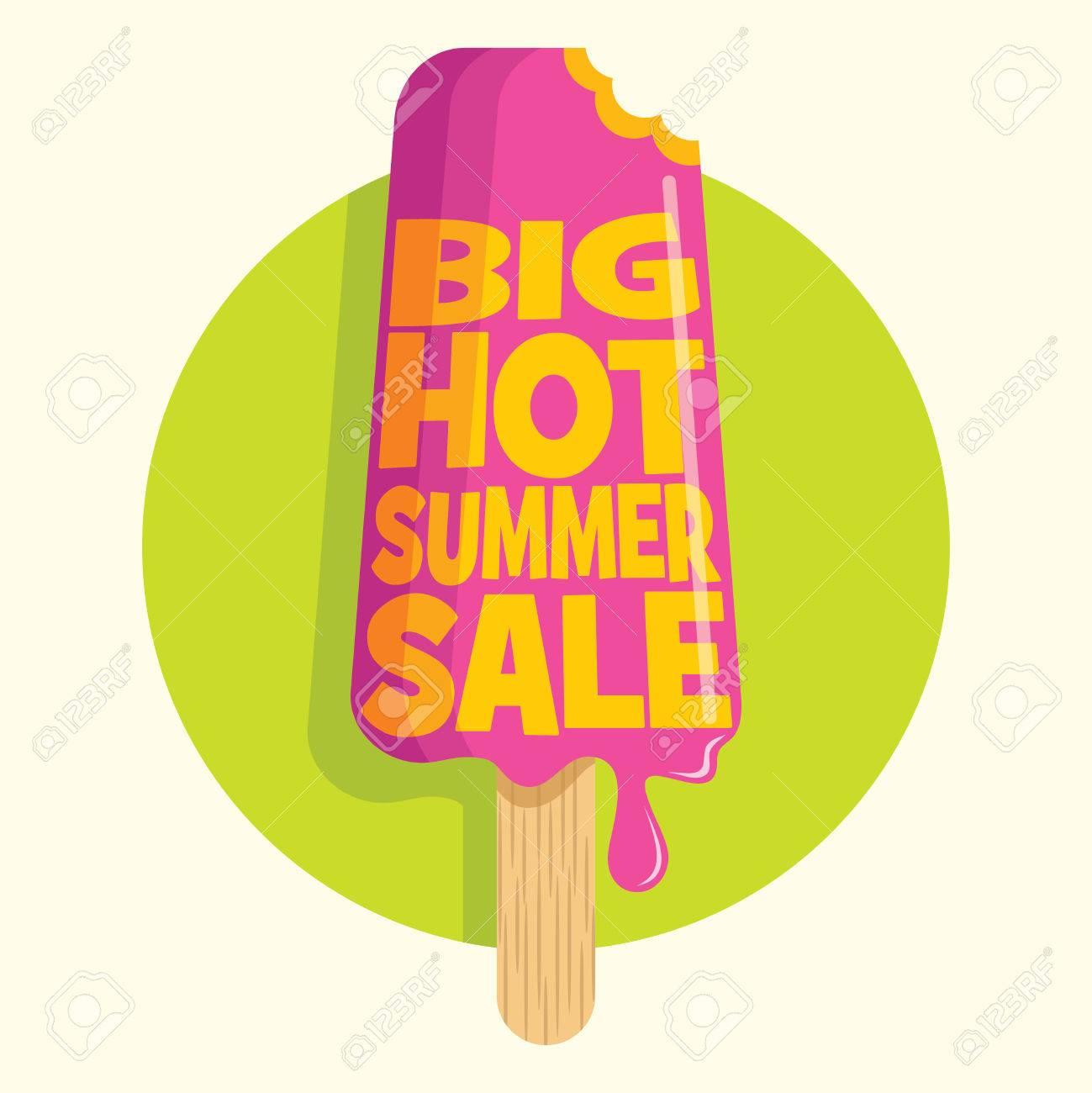 Summer sale design template Standard-Bild - 39942911
