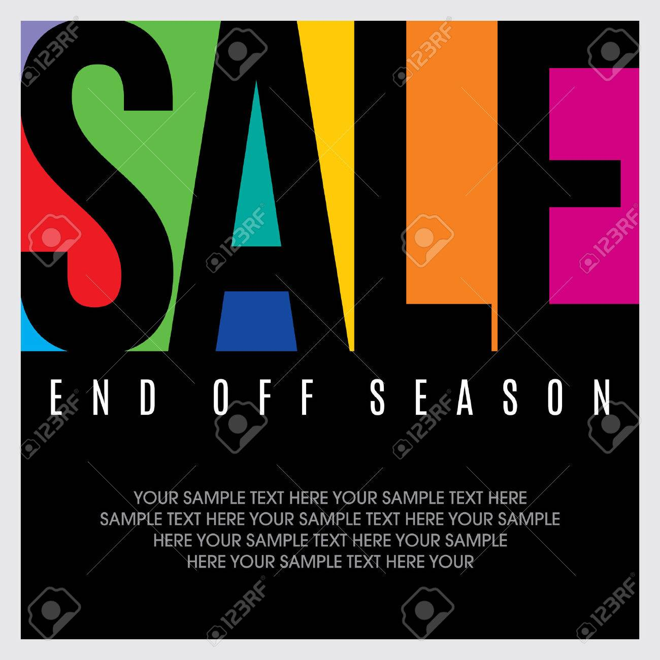 sale shopping background and label for business promotion Standard-Bild - 39943095