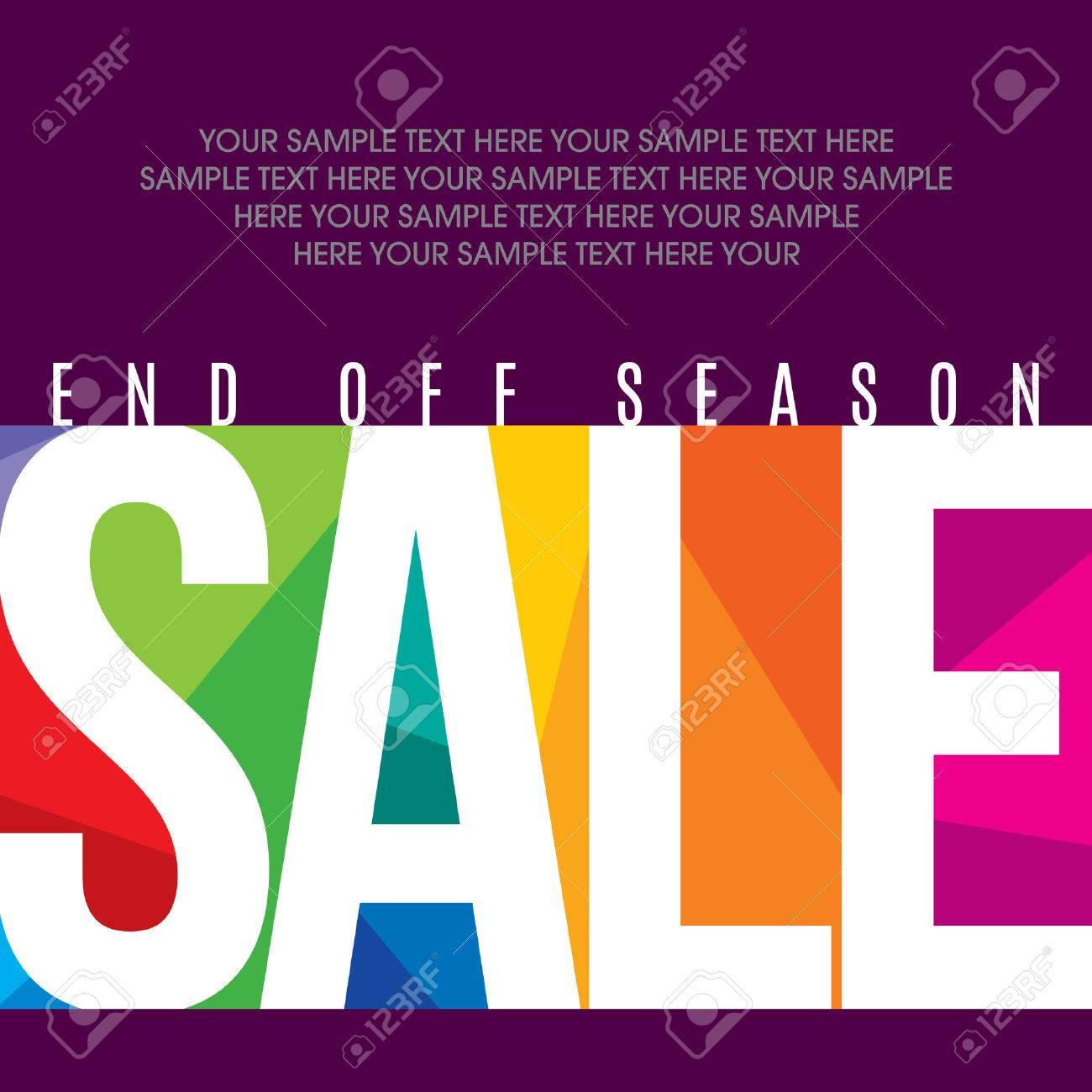 sale shopping background and label for business promotion Standard-Bild - 39943442