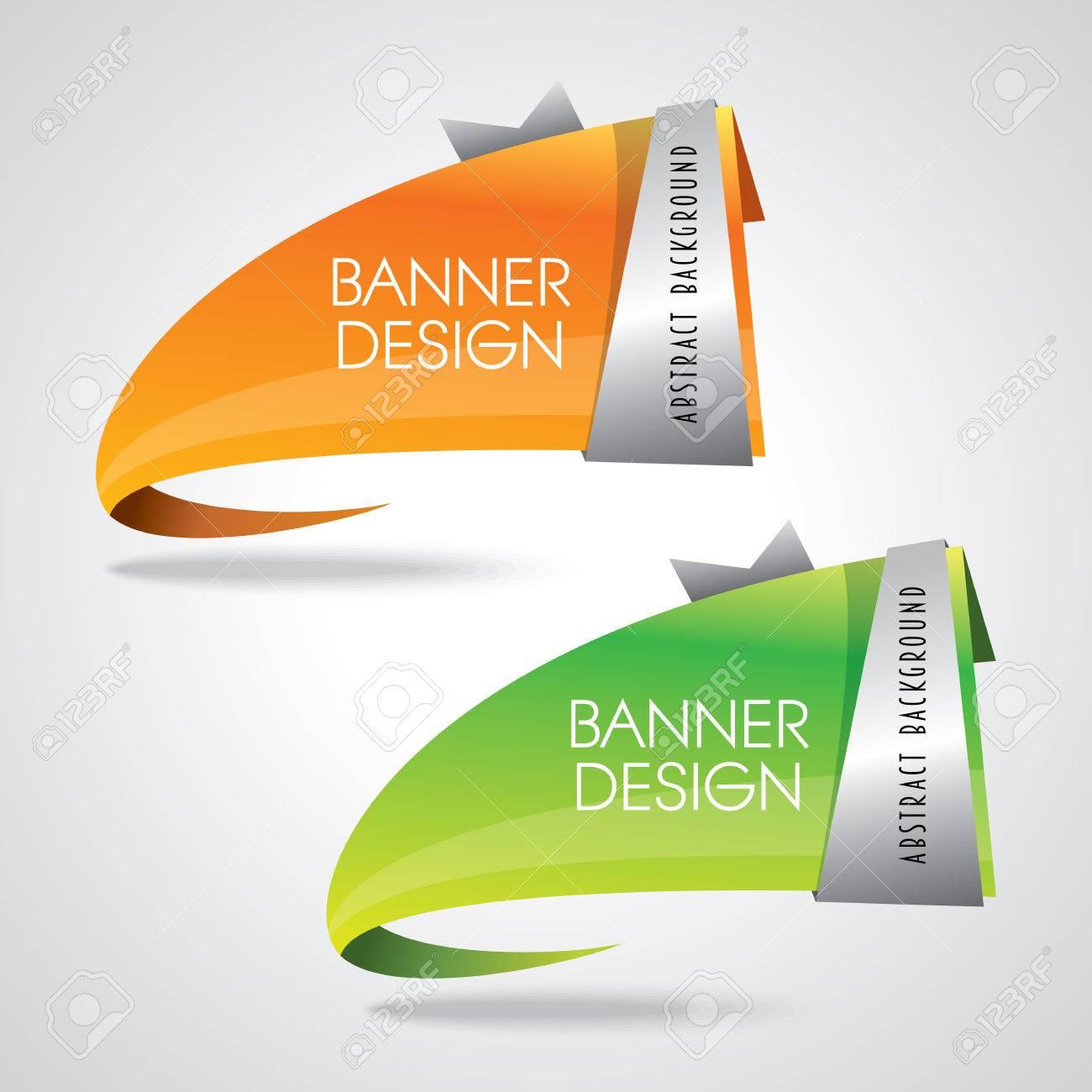 Colorful promotional banner design vector illustration - 41602660