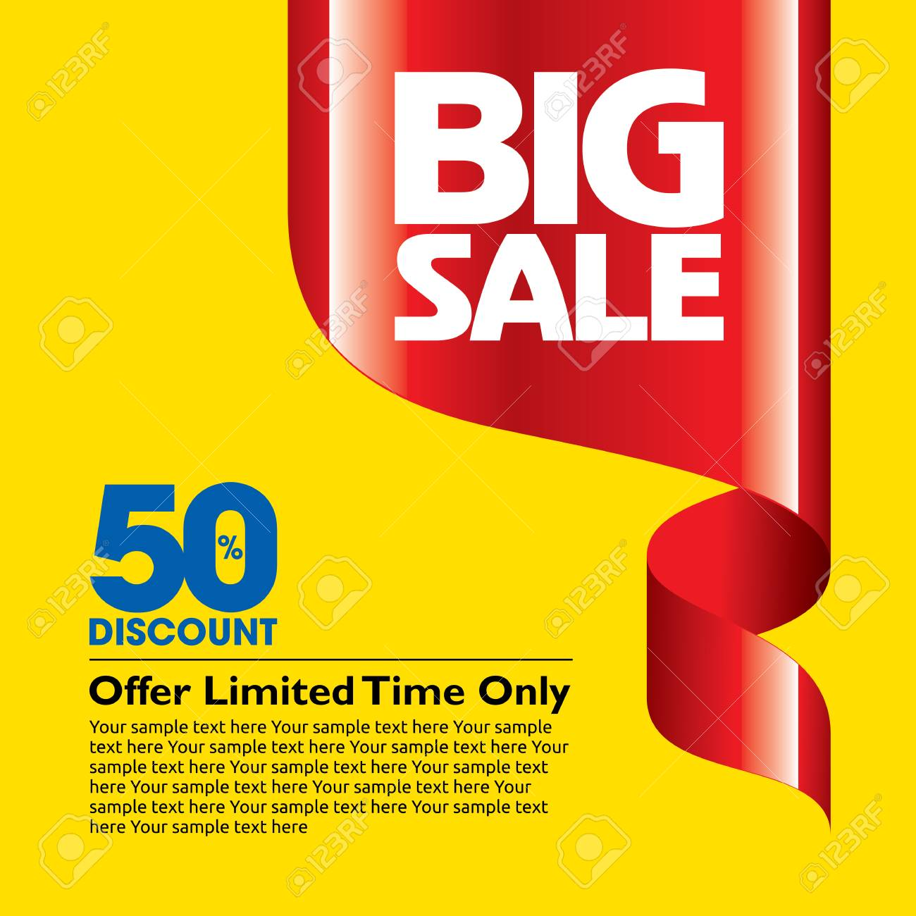 sale shopping background and label for business promotion - 41602823