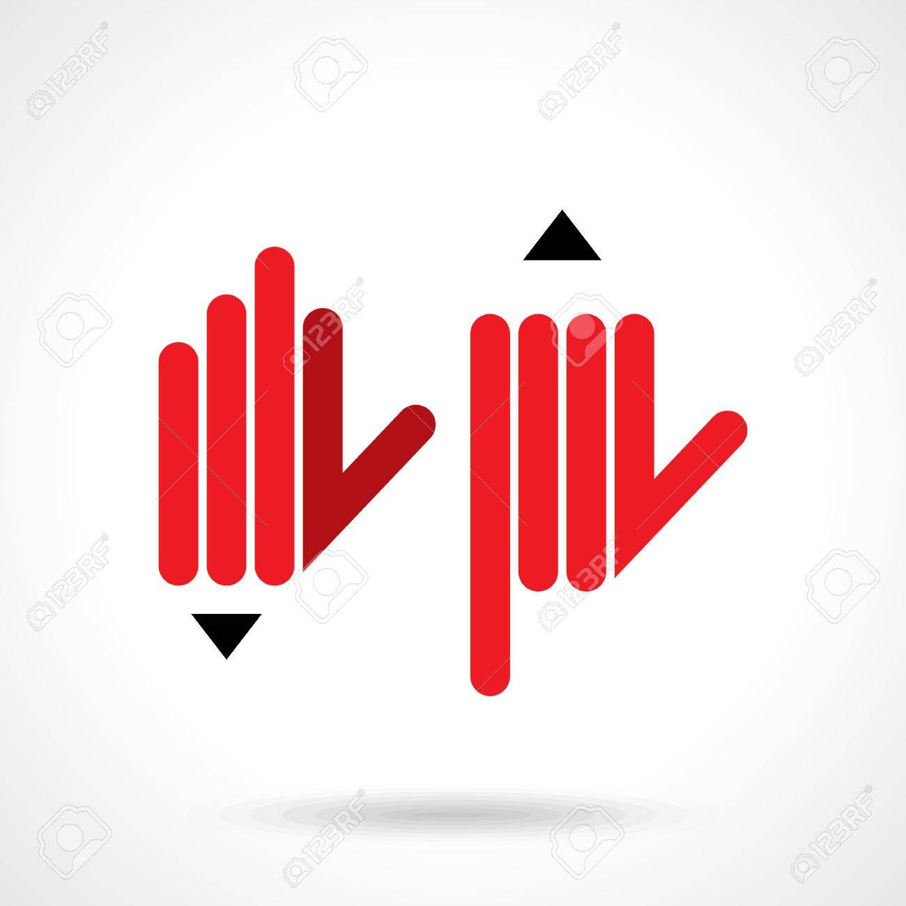hand with pencil. education idea Stock Vector - 42932210