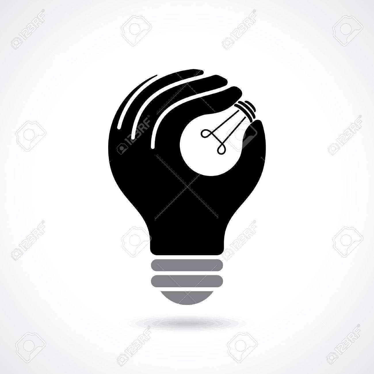 reach idea with human hand - 42932142