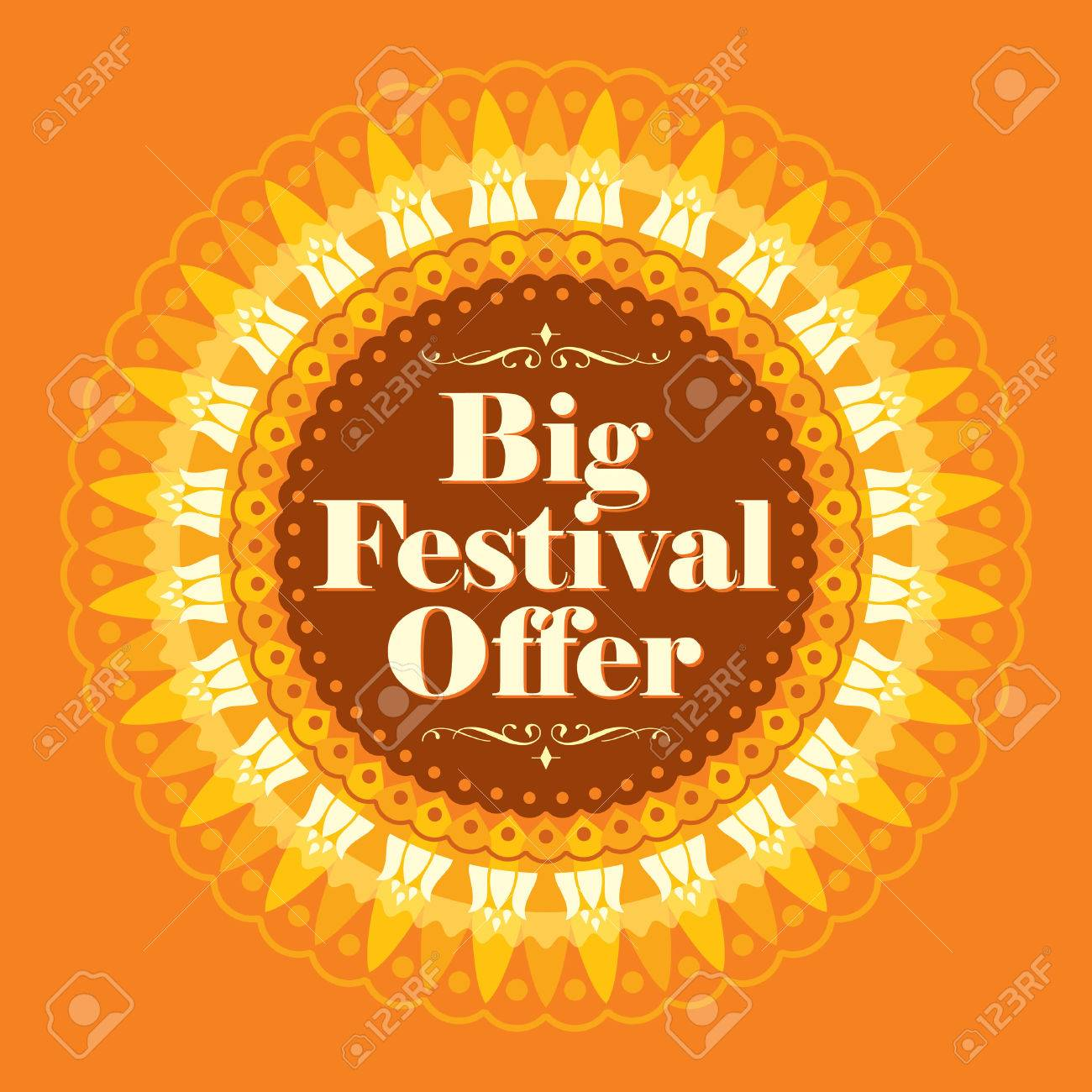 Vector design for Deepawali festival. - 45830293