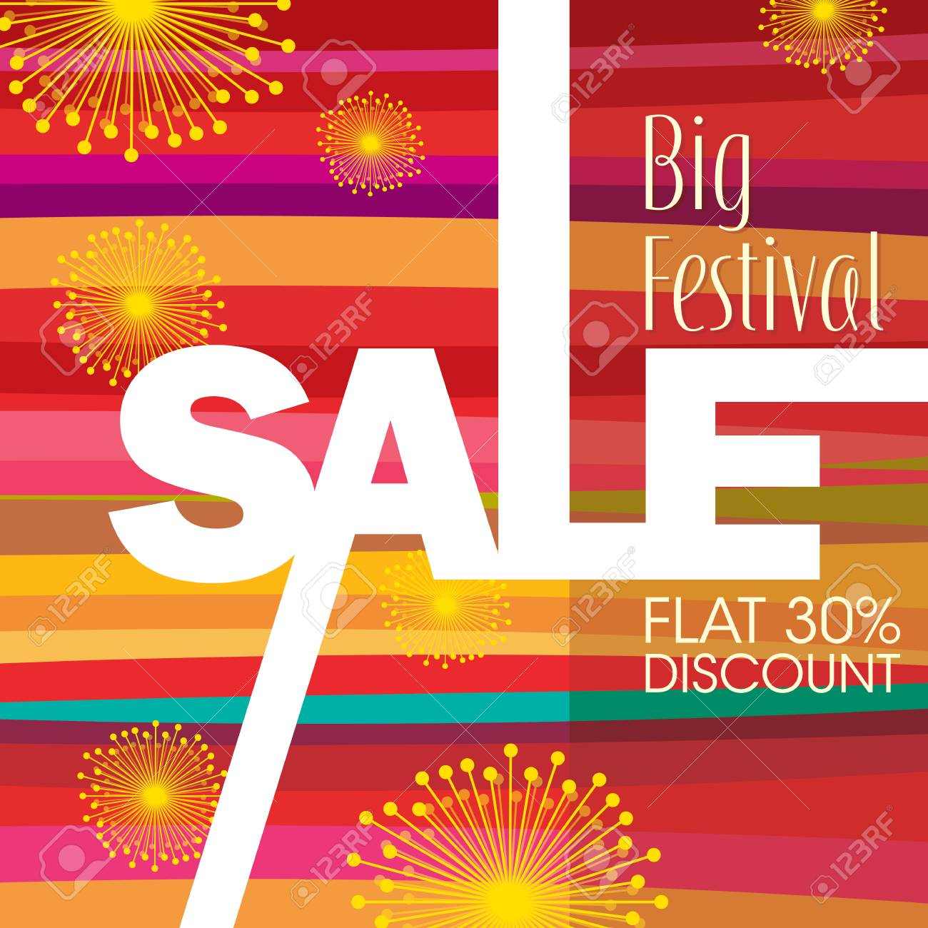 sale shopping background and label for business promotion - 45830497