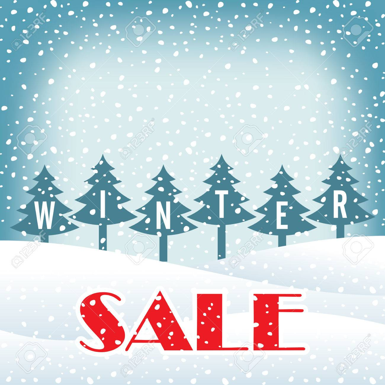 Poster design business - Winter Sale Poster Design Template Or Background Creative Business Promotional Vector Stock Vector