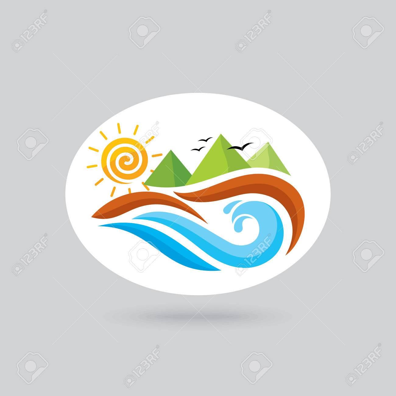 Logo for ocean view resort logo design vector illustration logo for ocean view resort logo design vector illustration stock vector 61462506 biocorpaavc Gallery