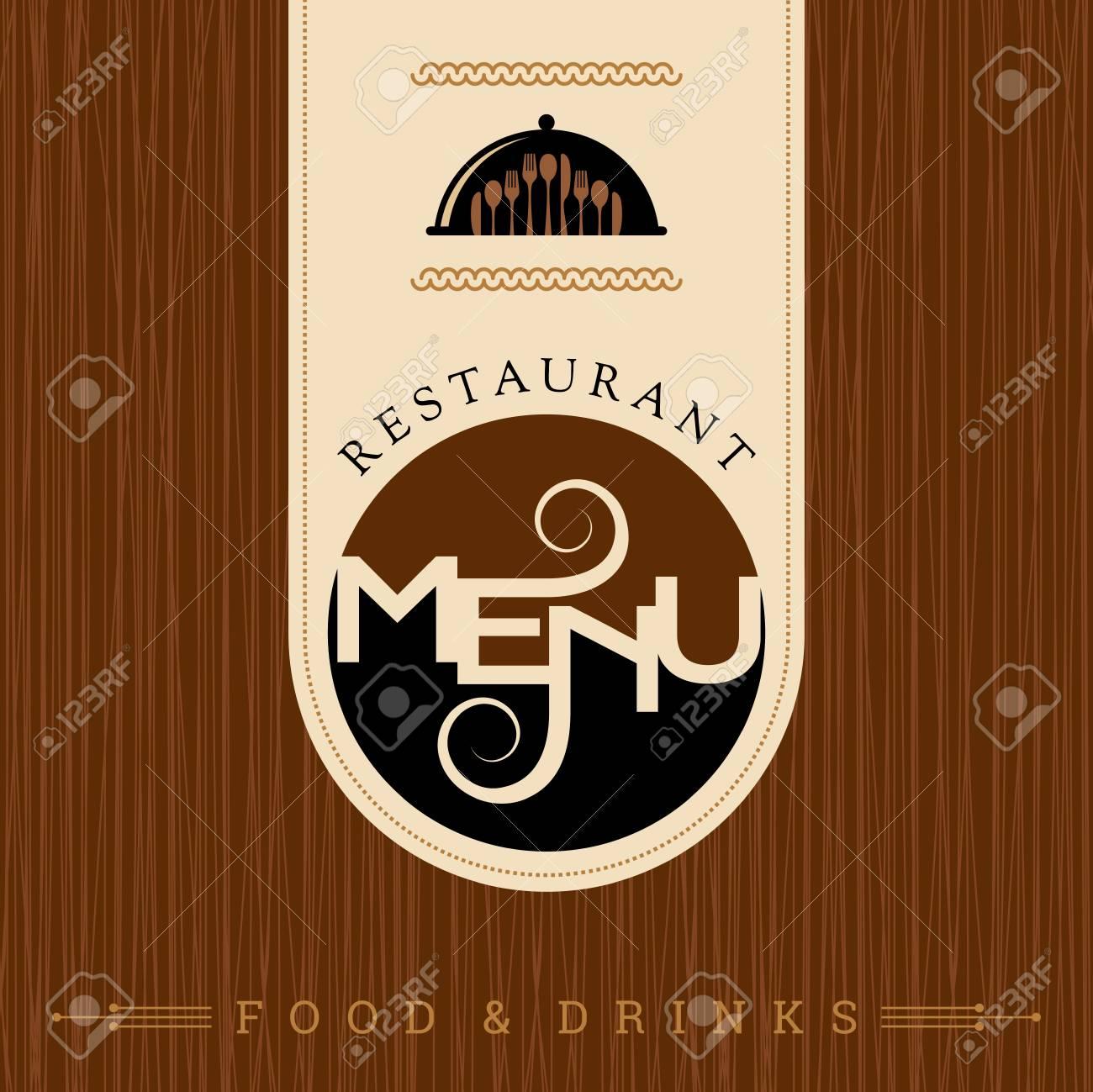 Restaurant Menu Card Design Template Creative Vector Royalty Free Cliparts Vectors And Stock Illustration Image 62247999