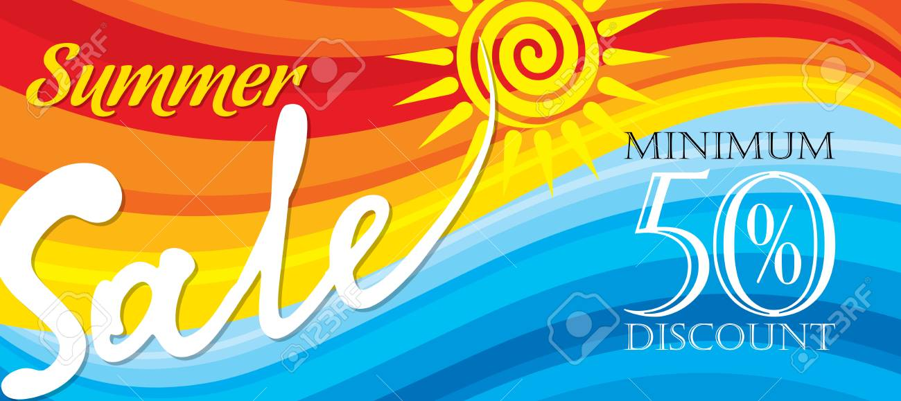 39b877716 Summer Sale banner design template for promotion Stock Vector - 74833491