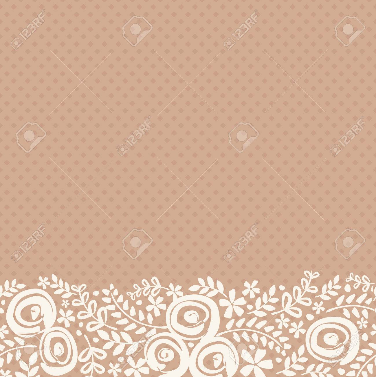abstrakt natur muster mit pflanzen blumen endless muster kann fr tapeten muster fllt - Tapeten Mit Muster
