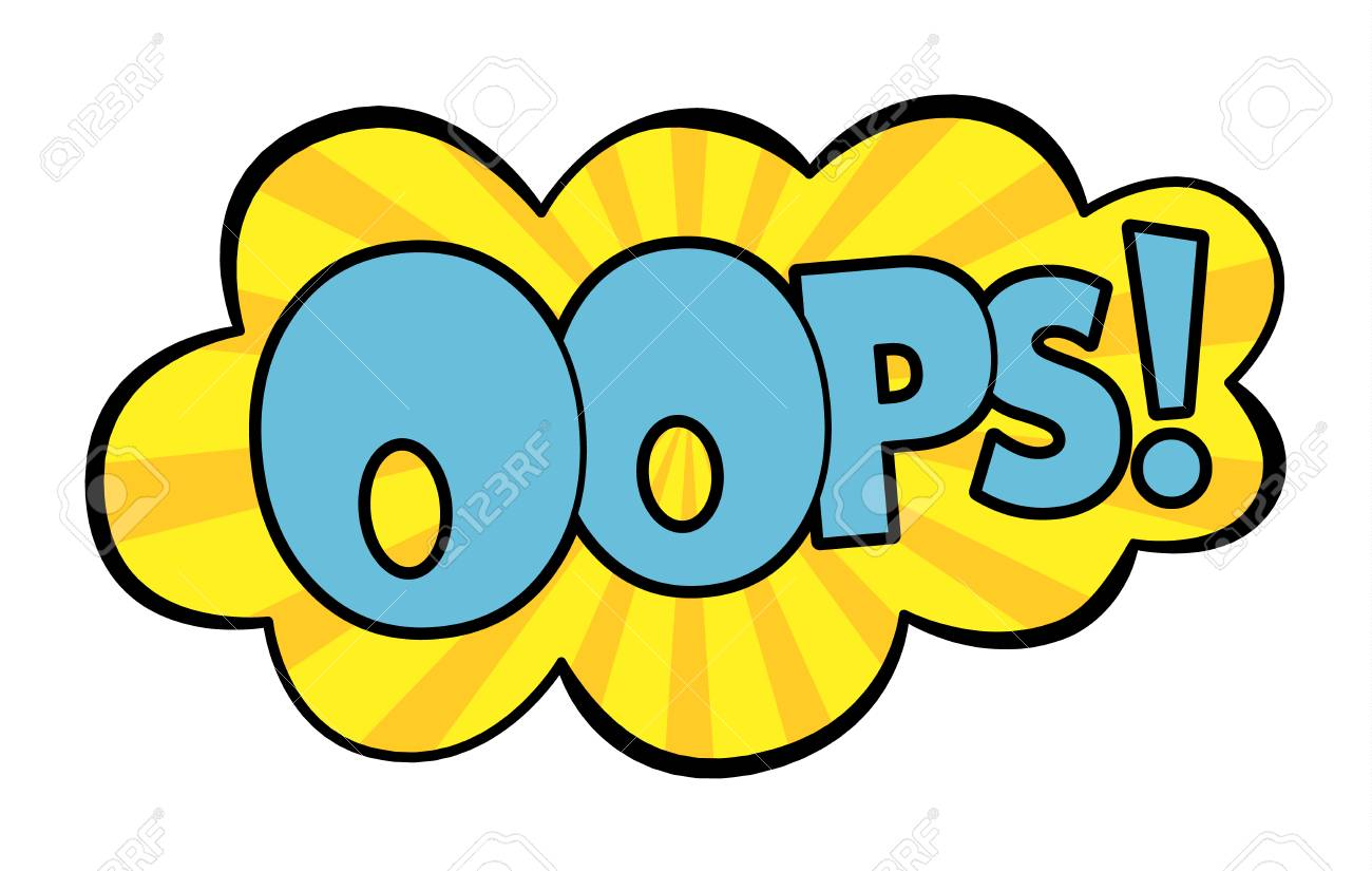 Oops Cliparts, Stock Vector And Royalty Free Oops Illustrations