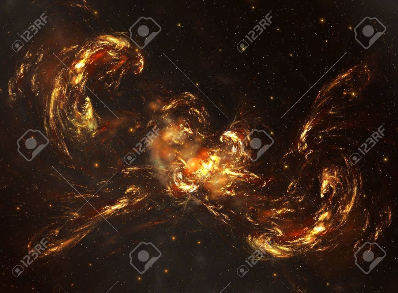 Space galaxy and star fogs Stock Photo - 11466846