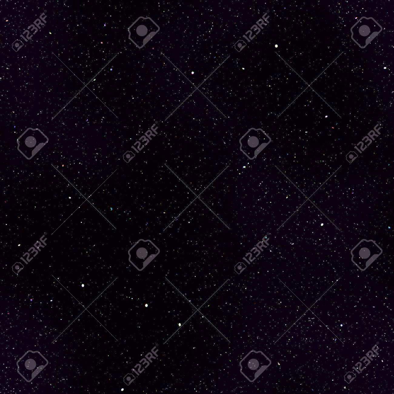 Abstract dark deep space background with stars. Stock Photo - 19429536
