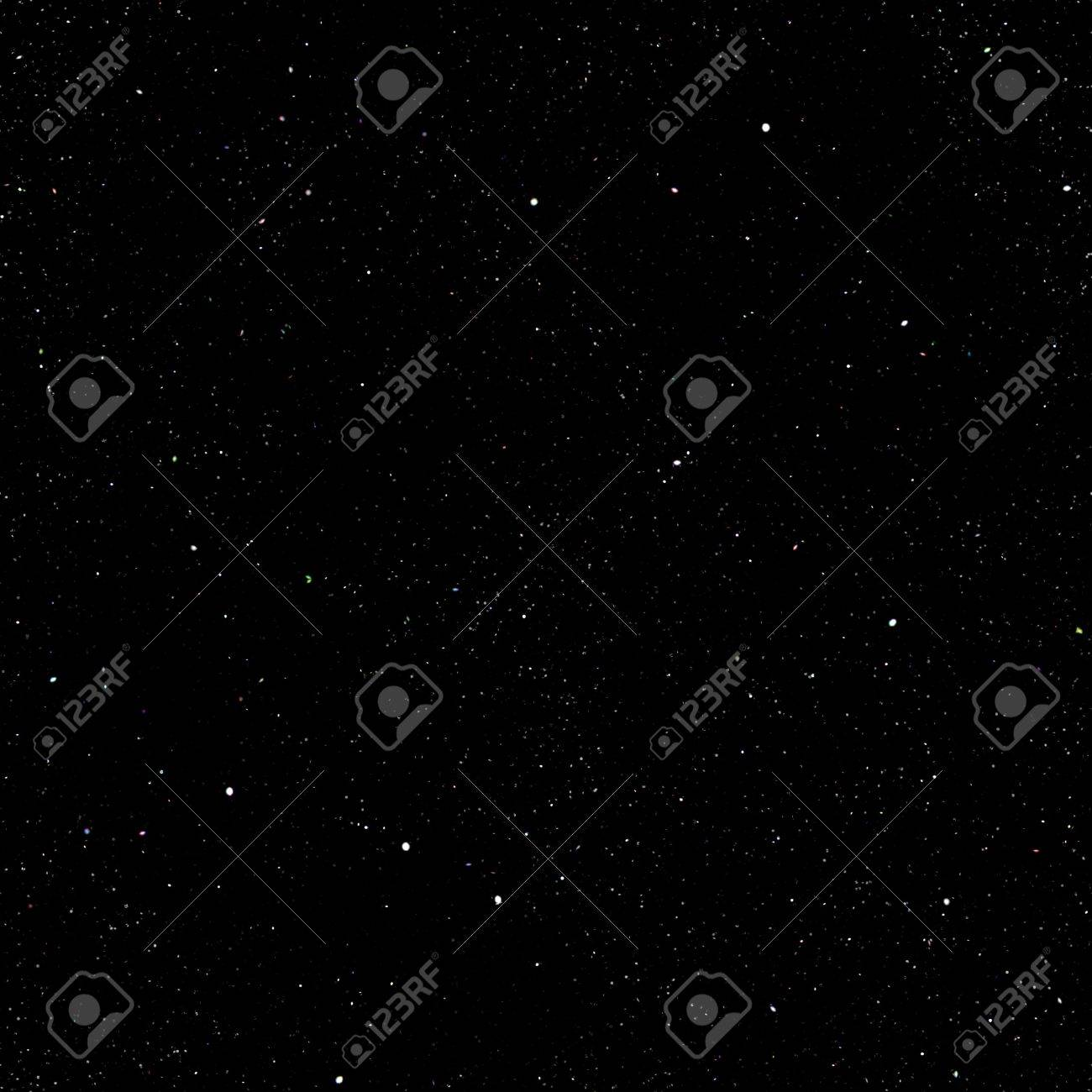 Abstract dark deep space background with stars. Stock Photo - 19938457
