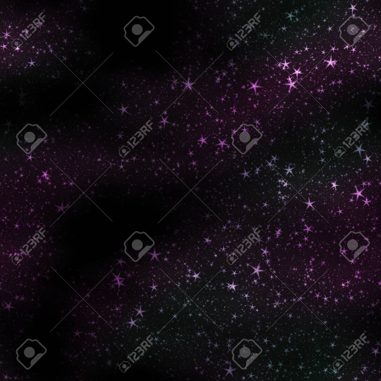 Star field in space and gas congestion background. Stock Photo - 20073927