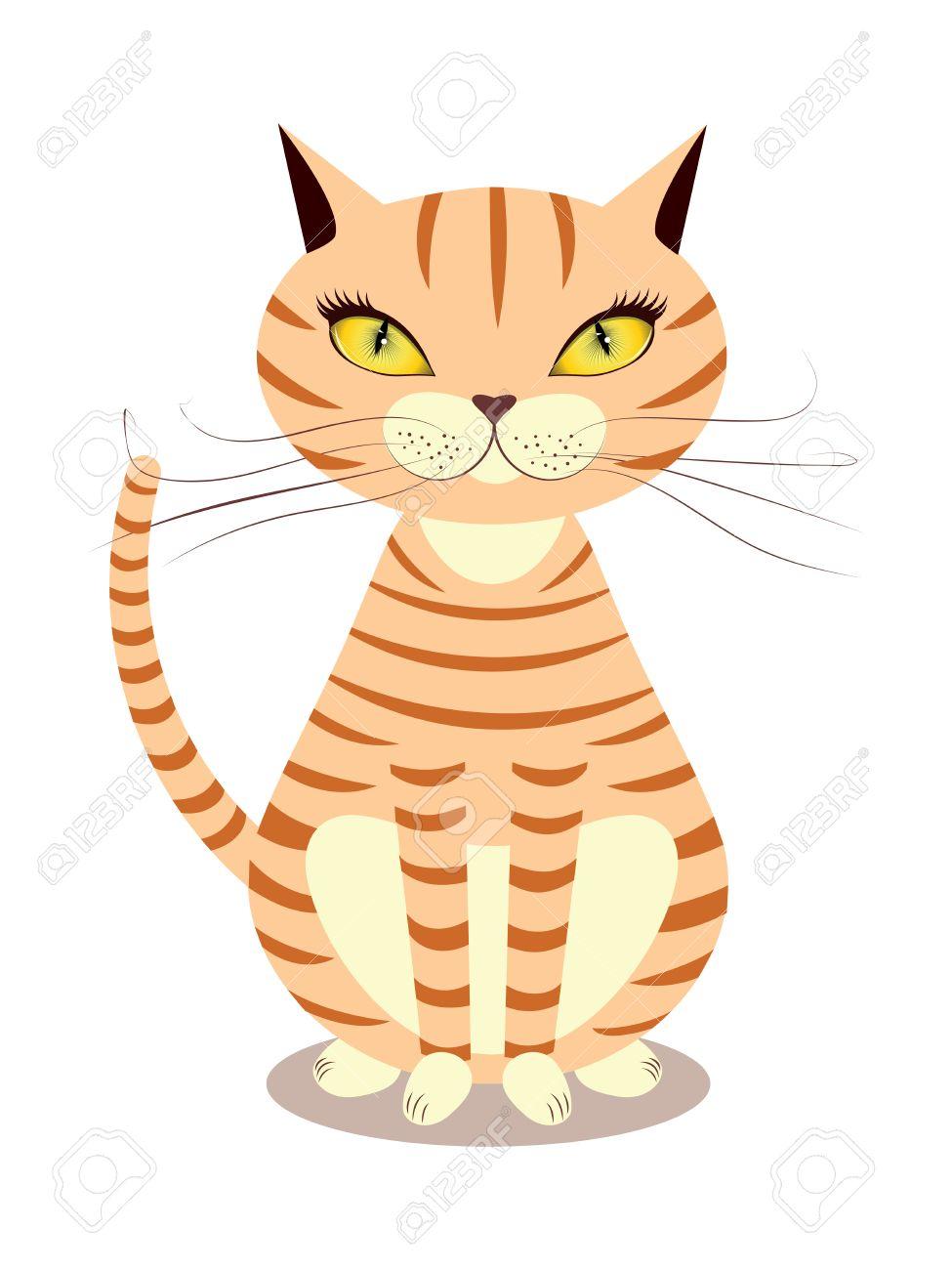 Прикол - смешной котенок, рыжий кот - YouTube