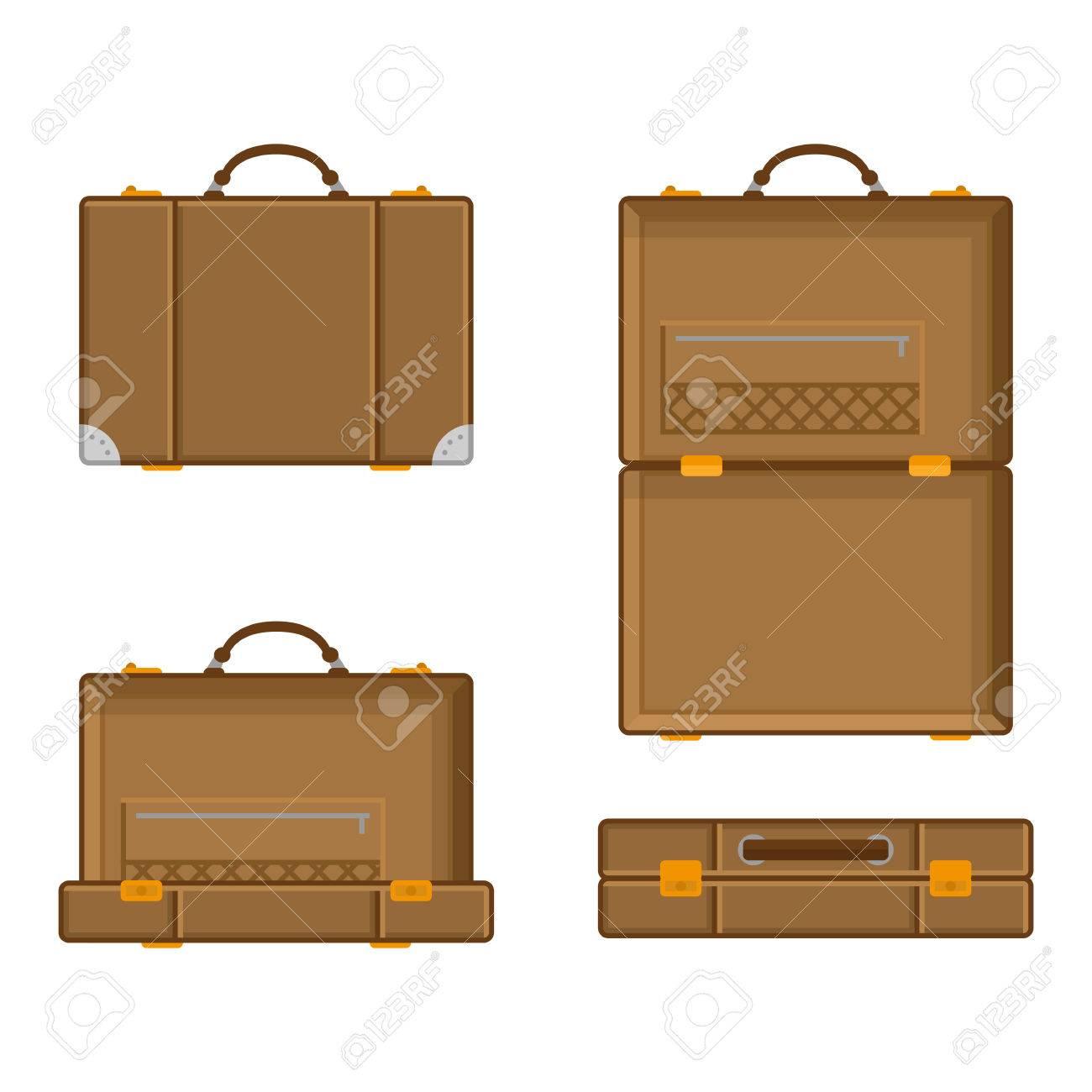 Baumwollkoffer geschlossener Koffer