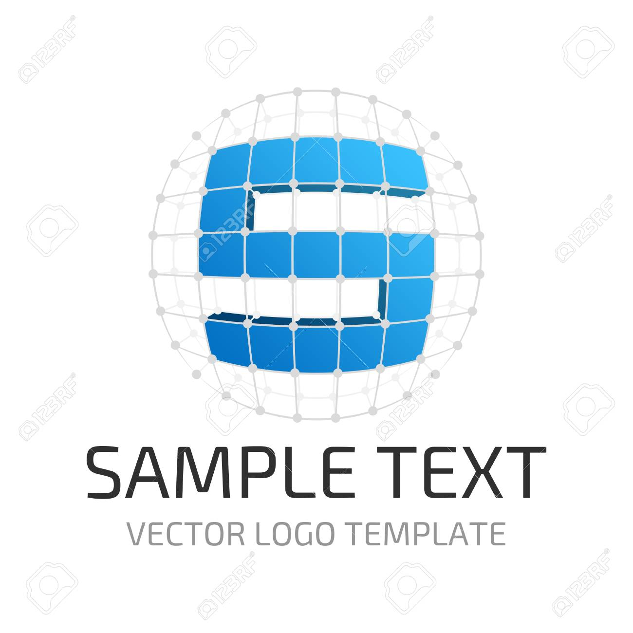 vector logo template letter s icon stylized letter s in the