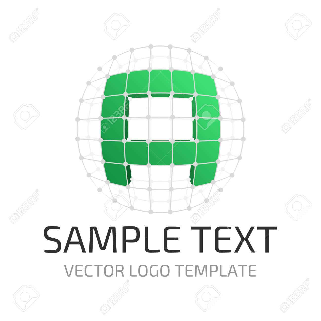 vector logo template letter a icon stylized letter a in the