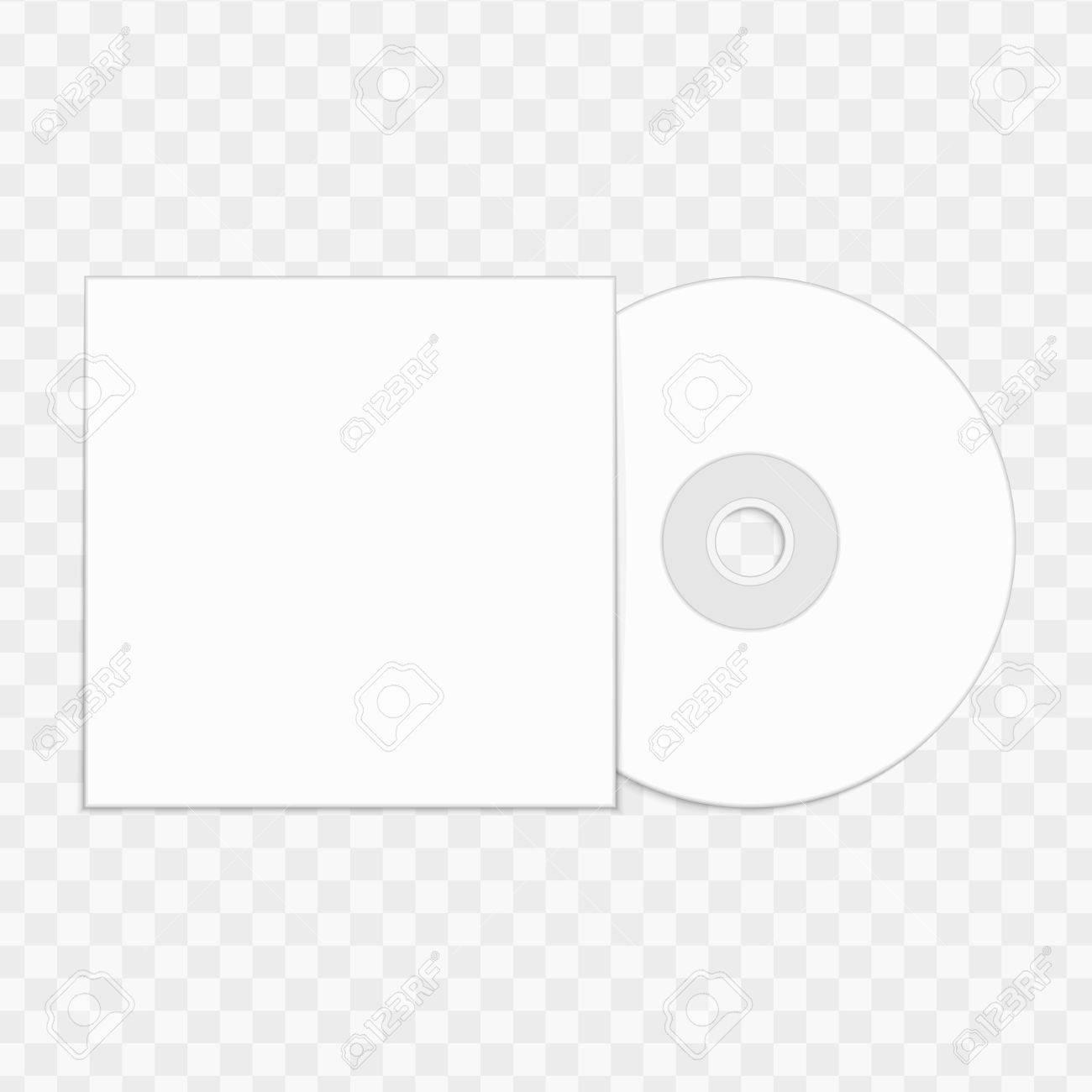 Plantilla De Reproducción De CD. Ilustraciones Vectoriales, Clip Art ...