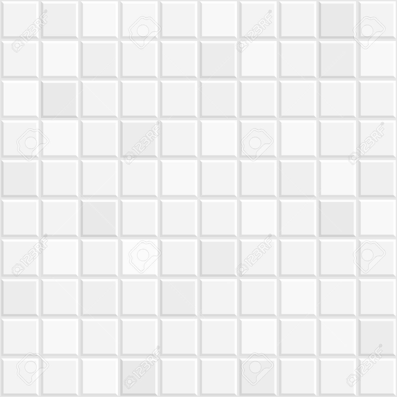 White Tiles Seamless Texture Vintage Ceramic Kitchen Or Bathroom Royalty Free Cliparts Vectors And Stock Illustration Image 112078402
