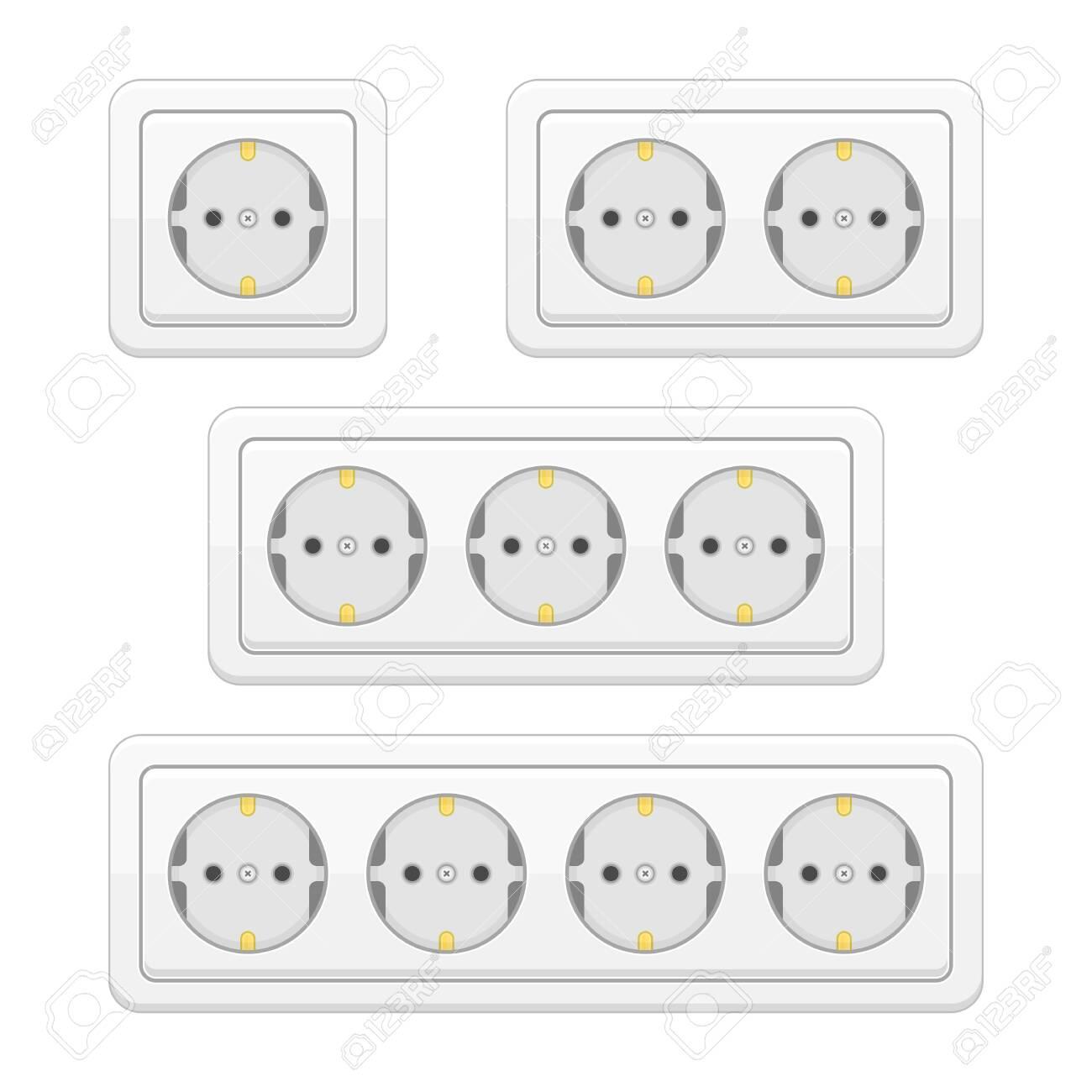 Power socket set. - 140086238