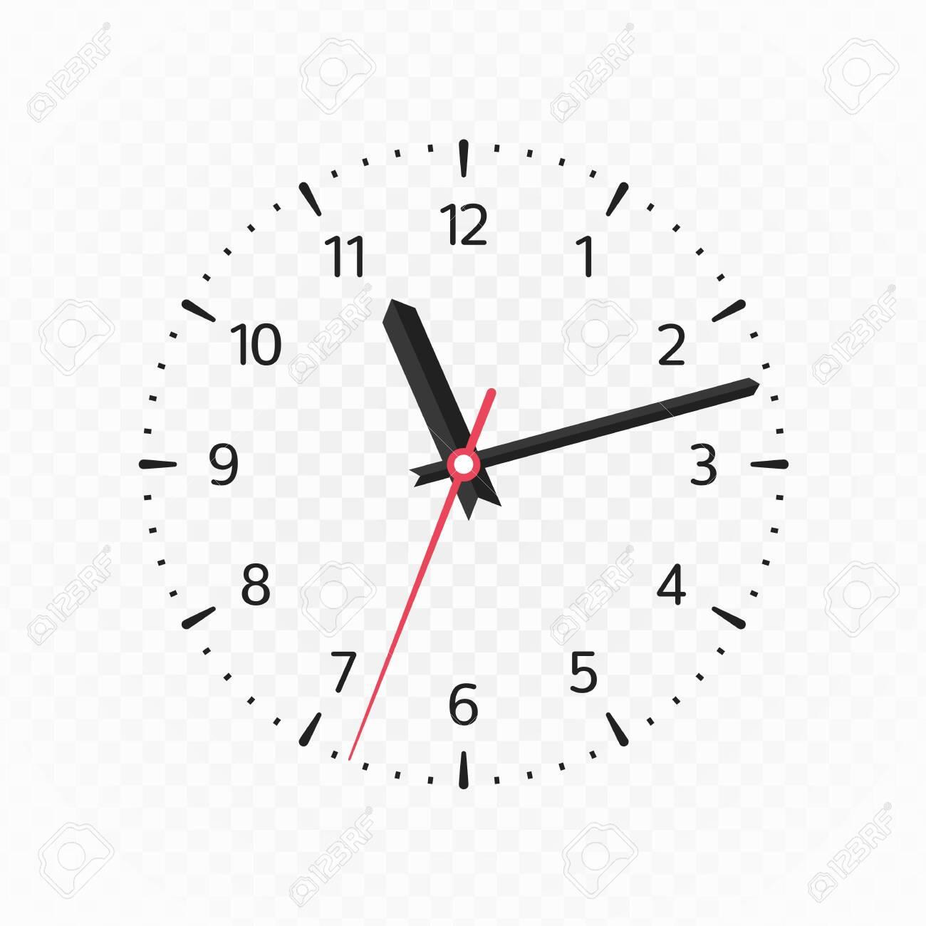 Clock face mockup. - 144709084