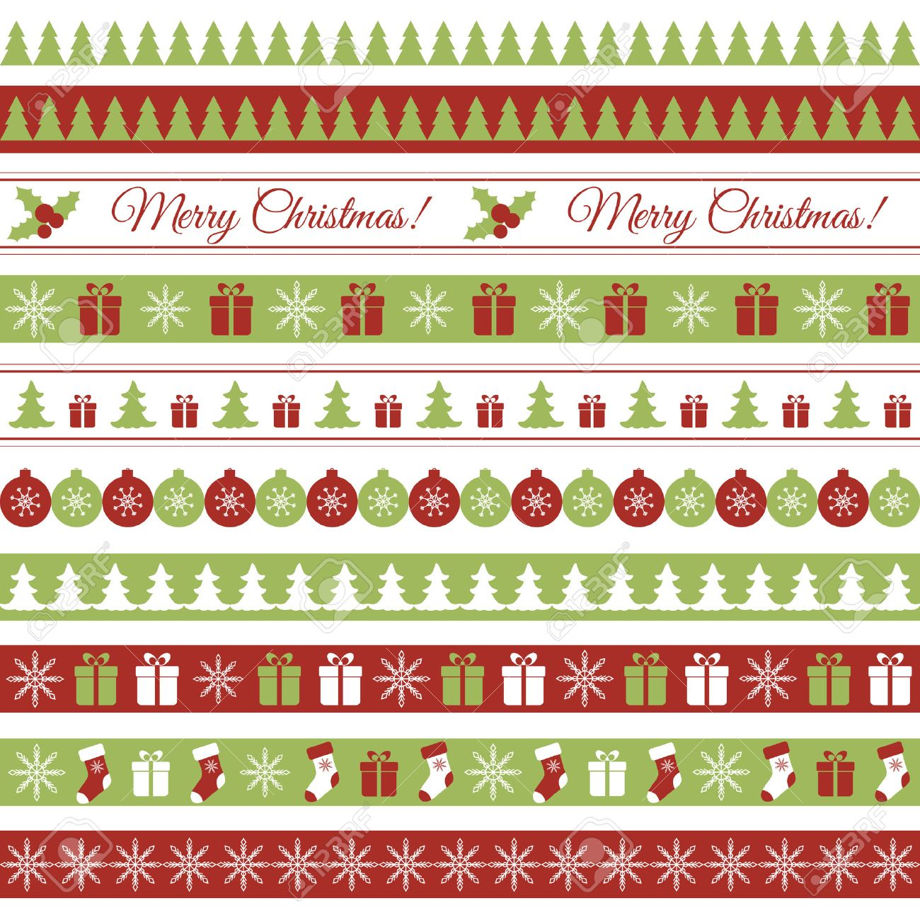 christmas design borders