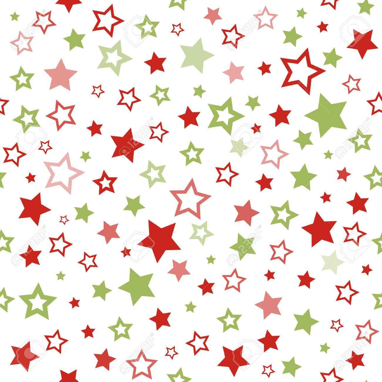 stars pattern. seamless vector christmas background. pattern